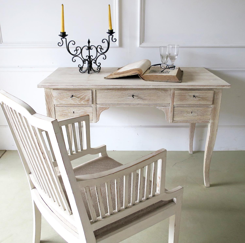 20th century Swedish Oak Writing table