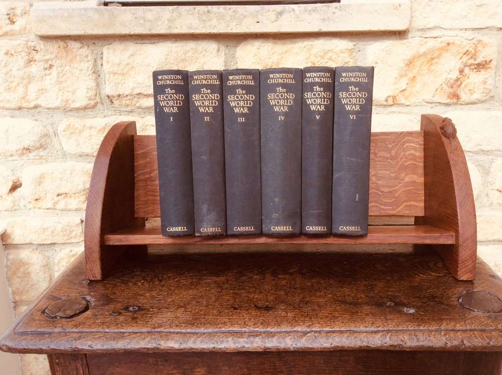 Beaverman Oak Book Trough