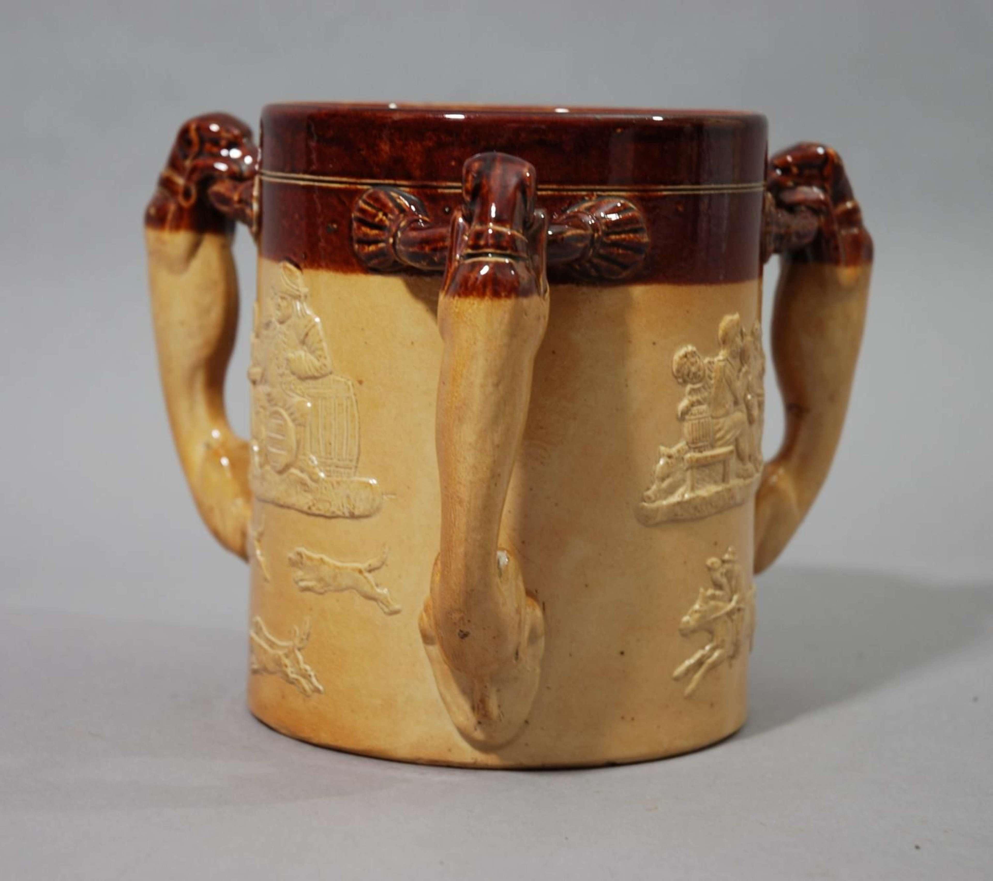 Royal Doulton Lambeth stoneware tyg