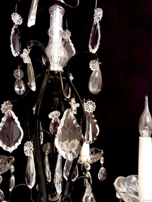 Chandelier Glass Spare Parts Black Balls Chandelier Glass
