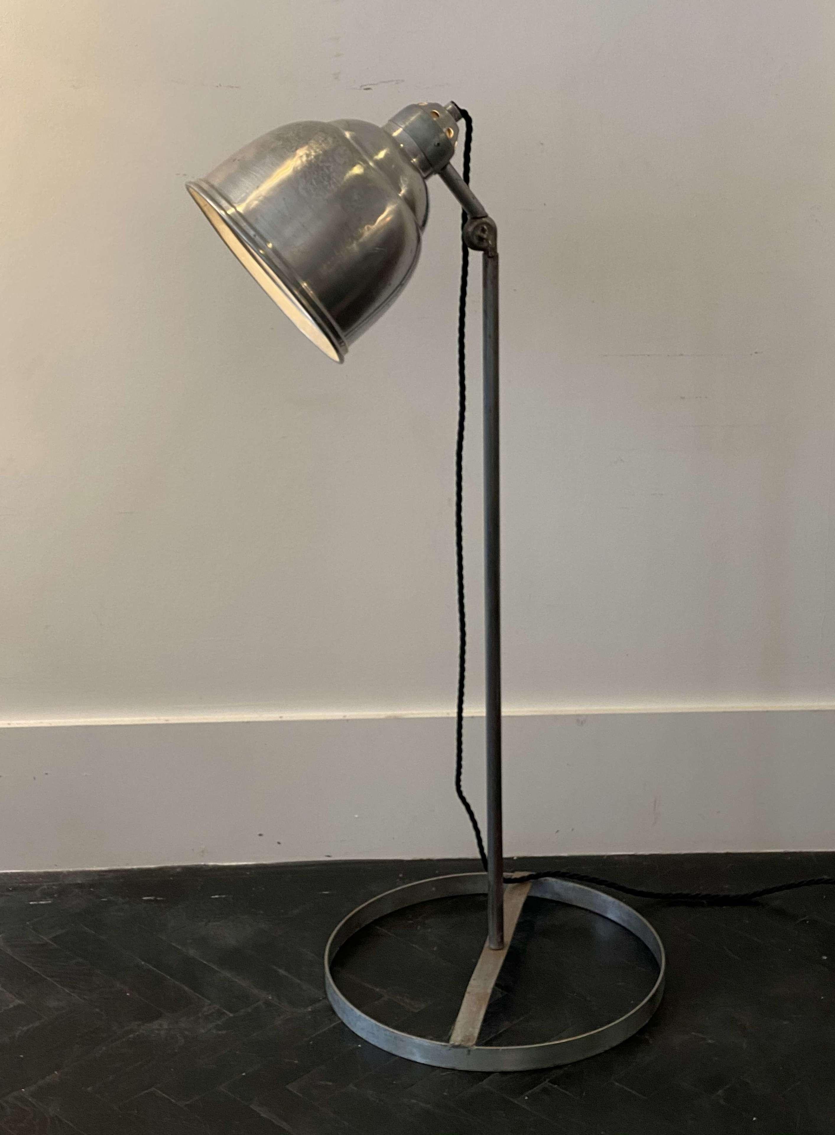 Industrial Floor Lamp In Antique Floor Lamps