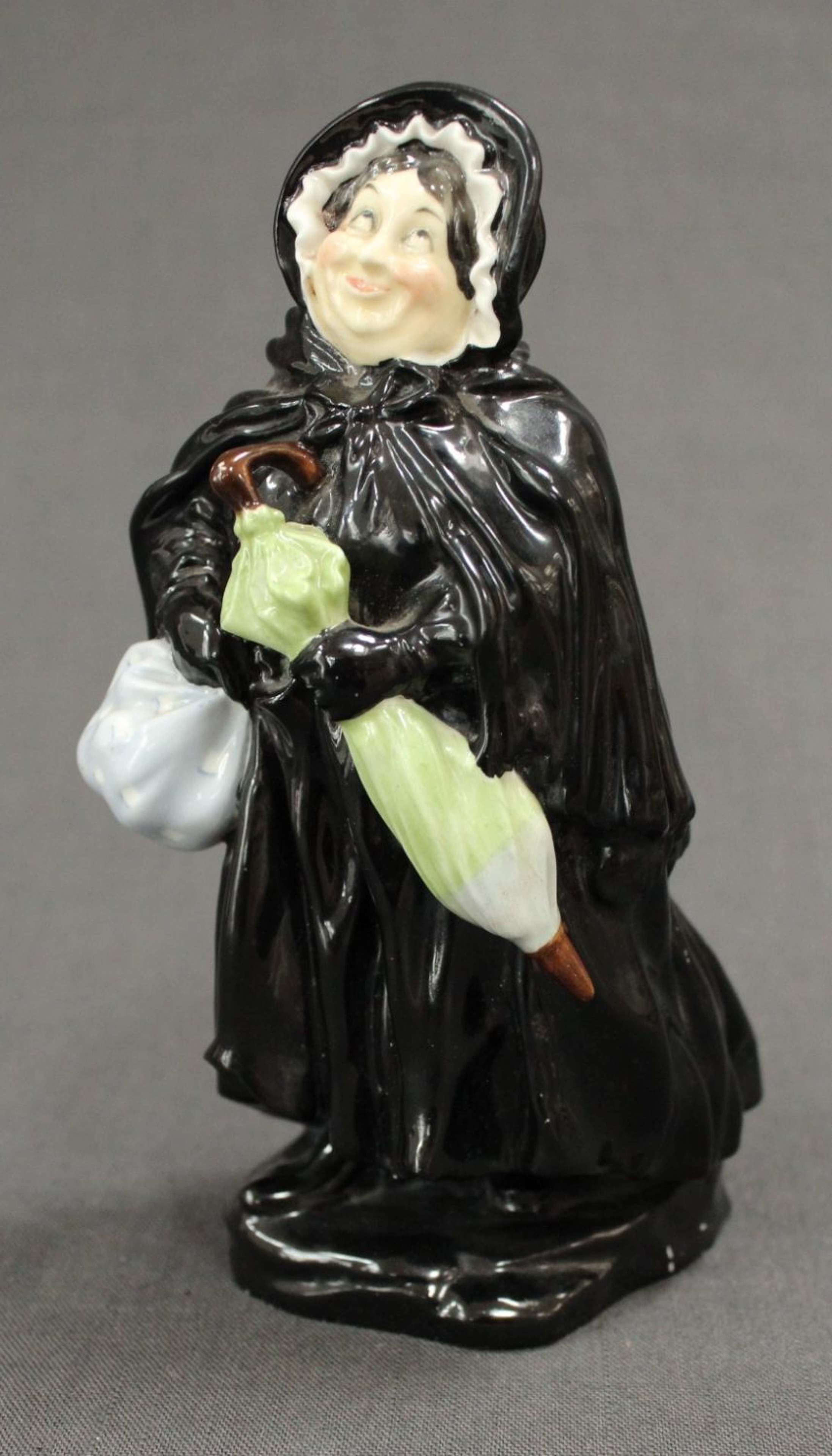 An early Royal Doulton figure of Sairey Gamp