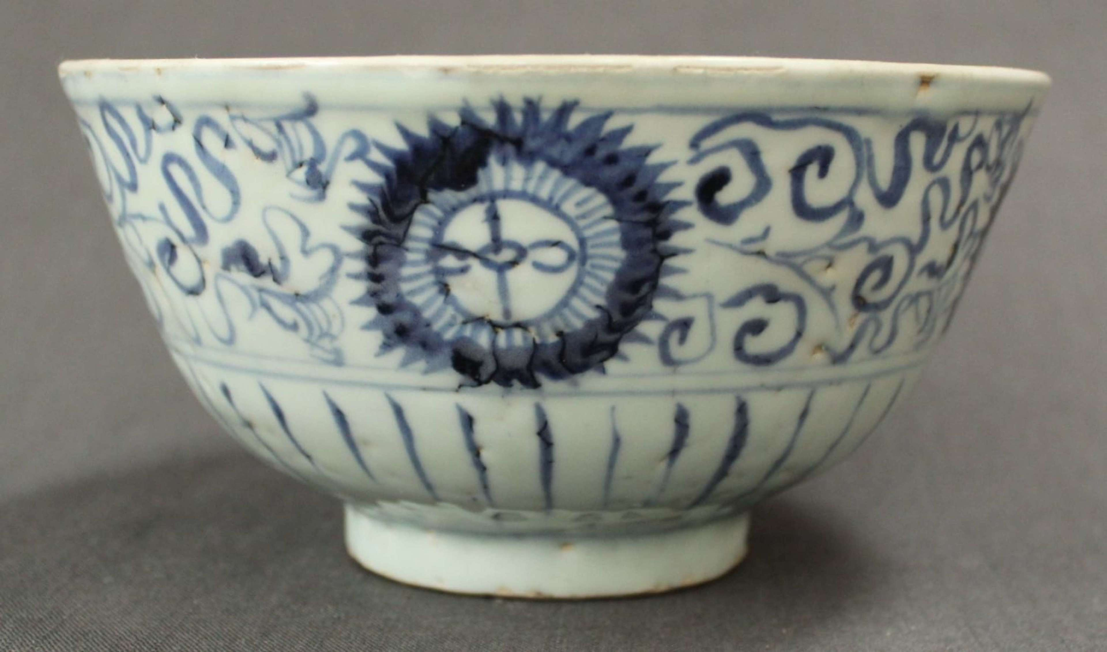 A Chinese Transitional Period bowl