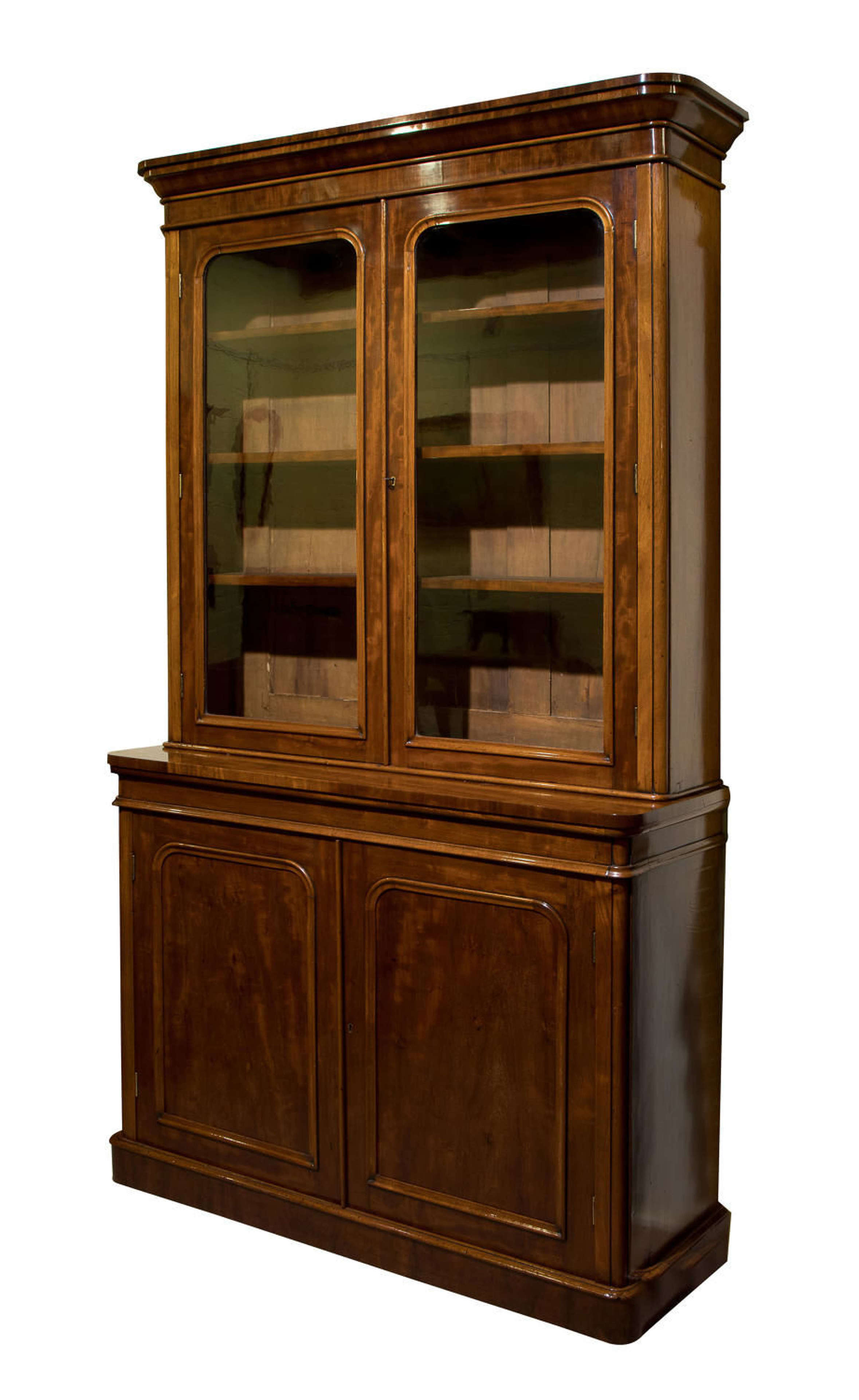 19thc Mahogany Bookcase In Antique Bookcases Shelves