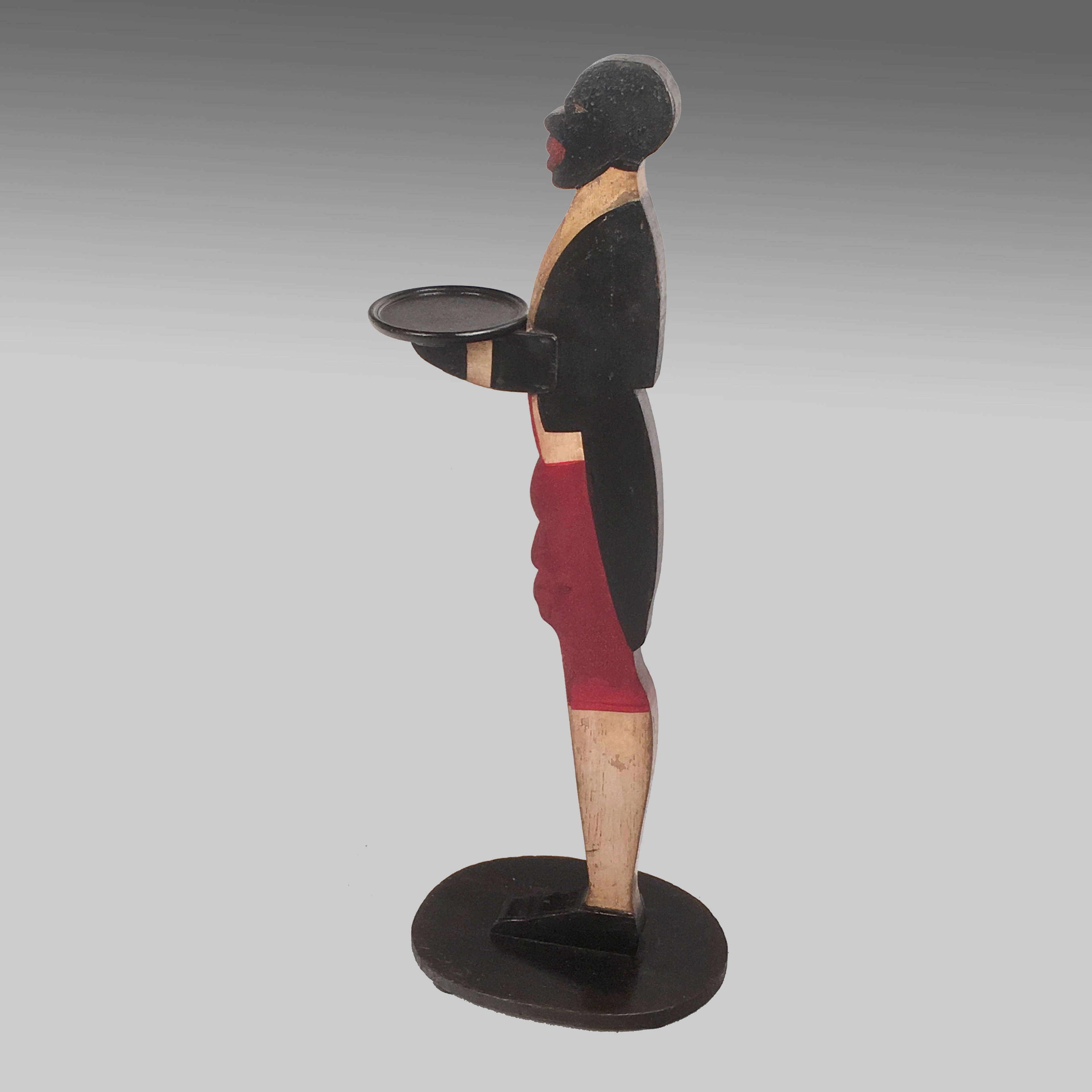 Art Deco bell hop dummy board
