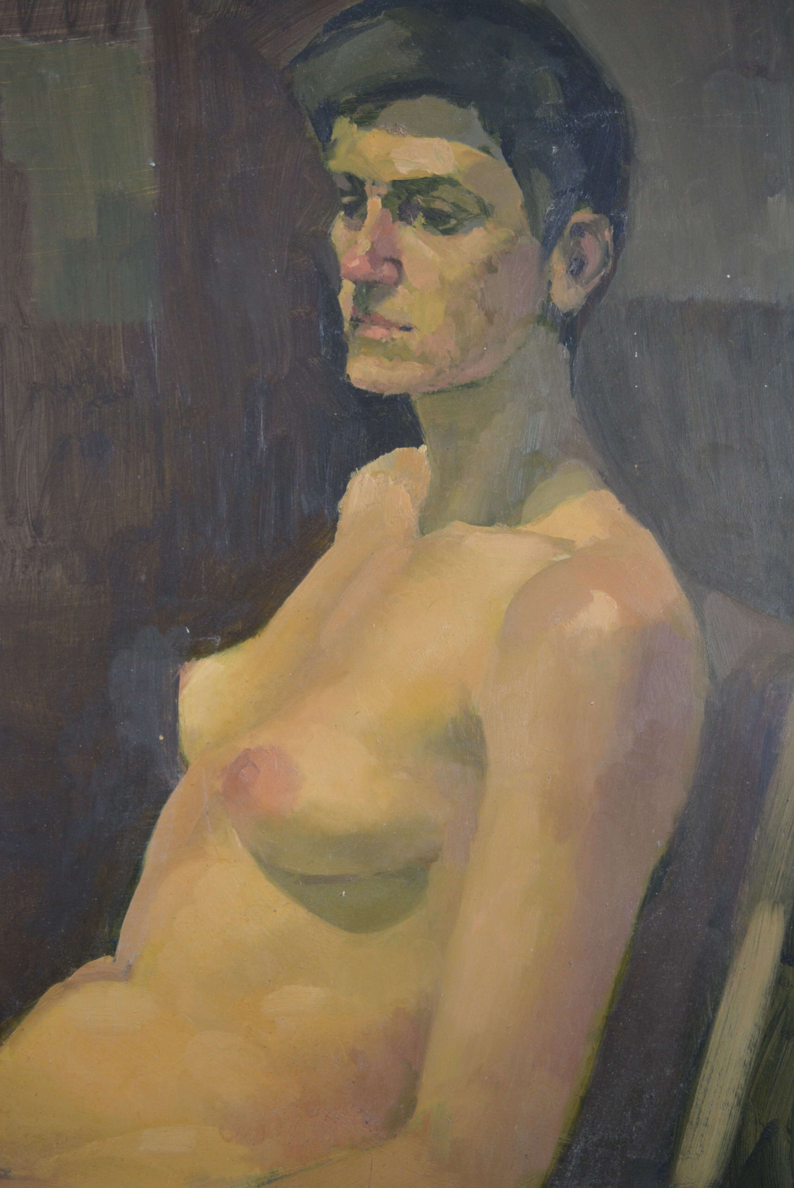 REG ELDRIDGE NUDE STUDY CAROLE - THE MODEL IN PARIS