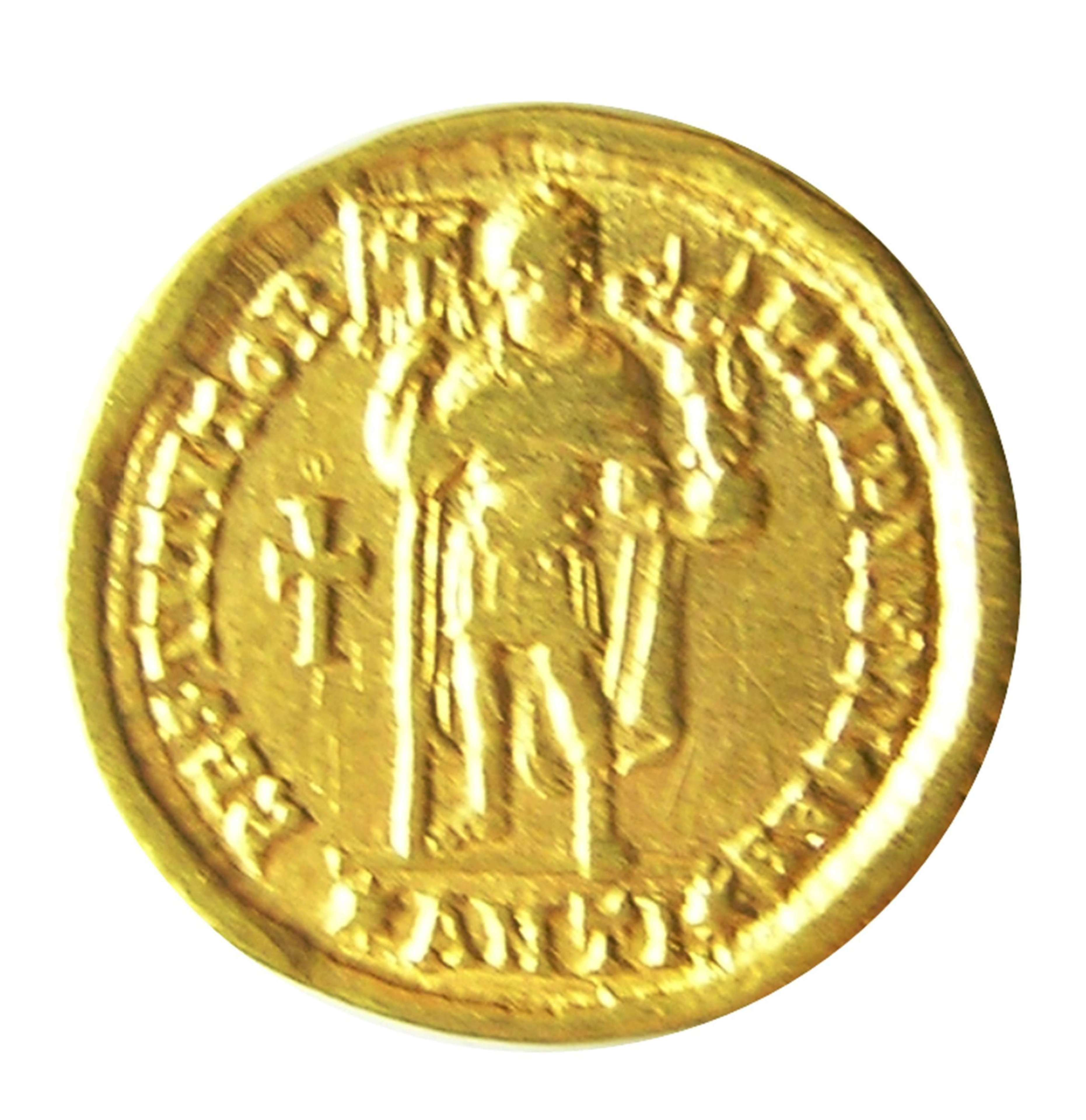 Roman Gold Solidus of Emperor Valens minted in Antioch