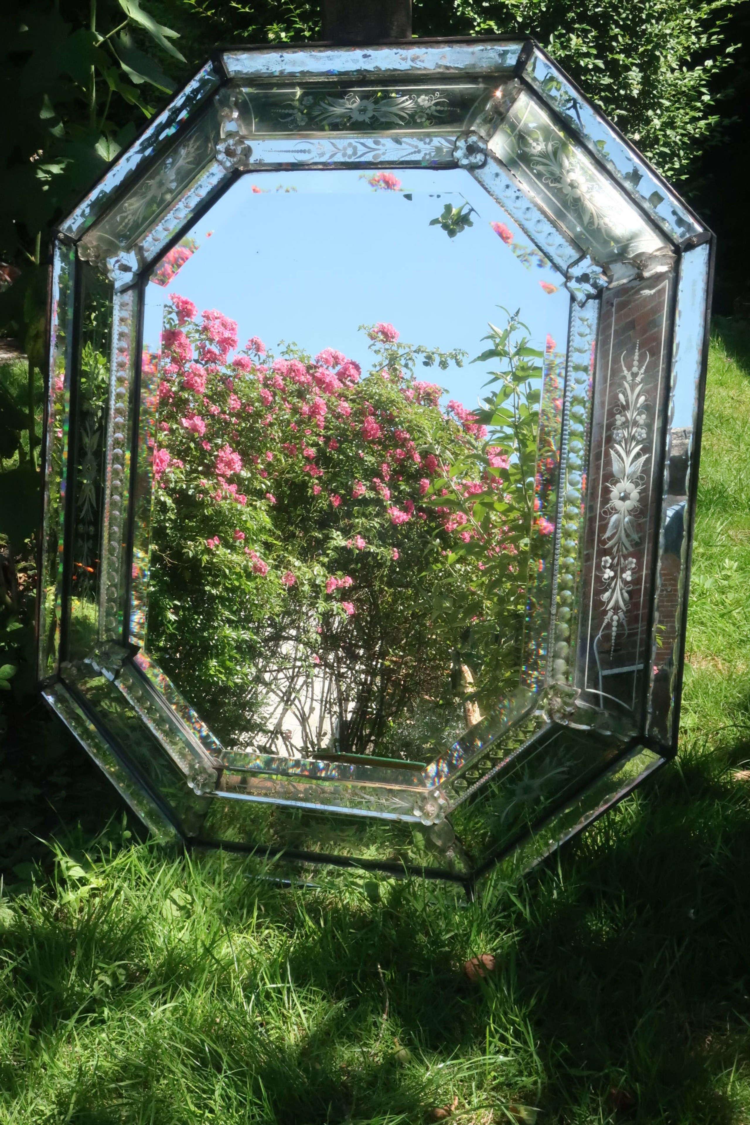 Large Venetian mirror