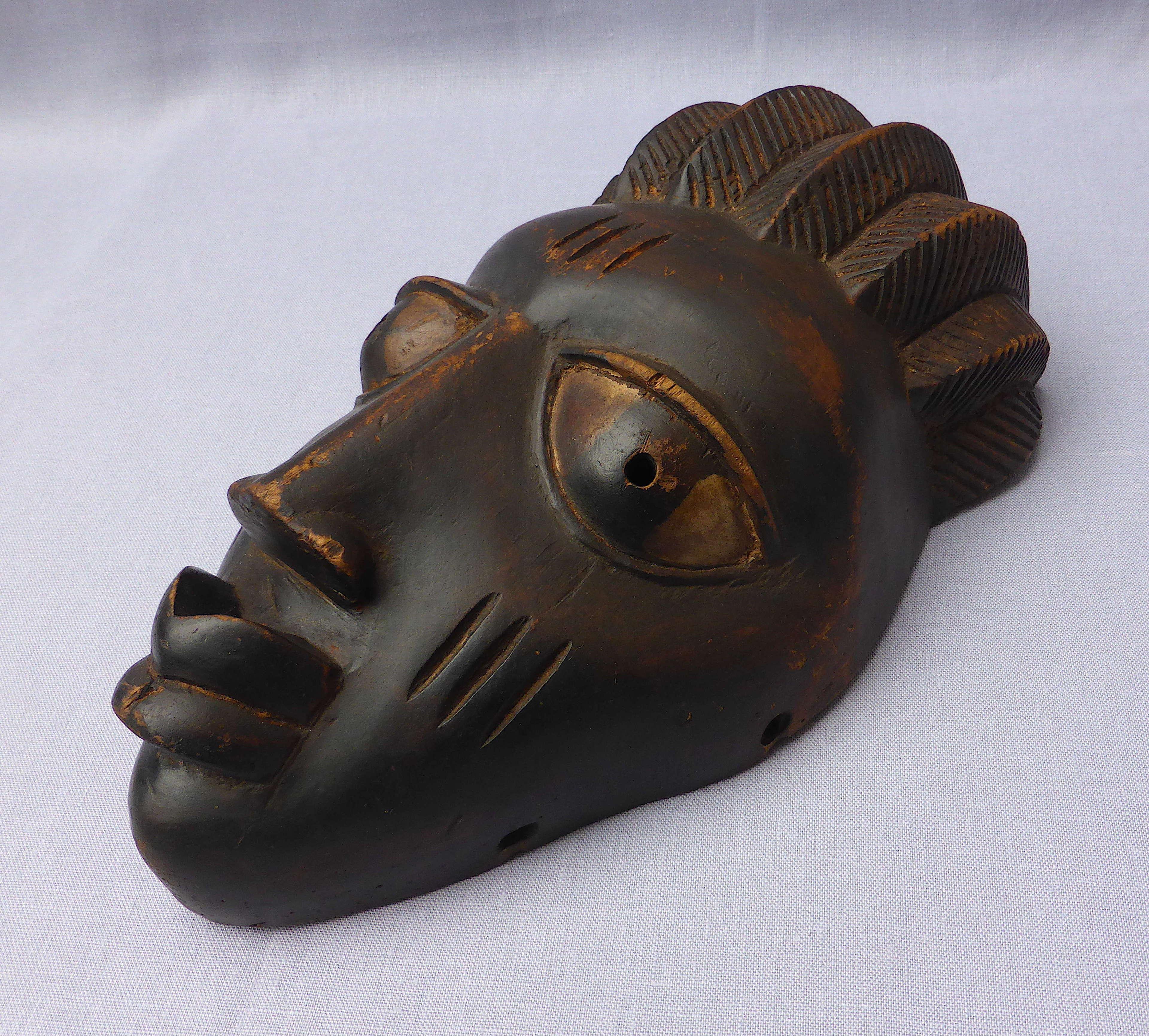 Very Fine Nigerian Yoruba Gelede Mask