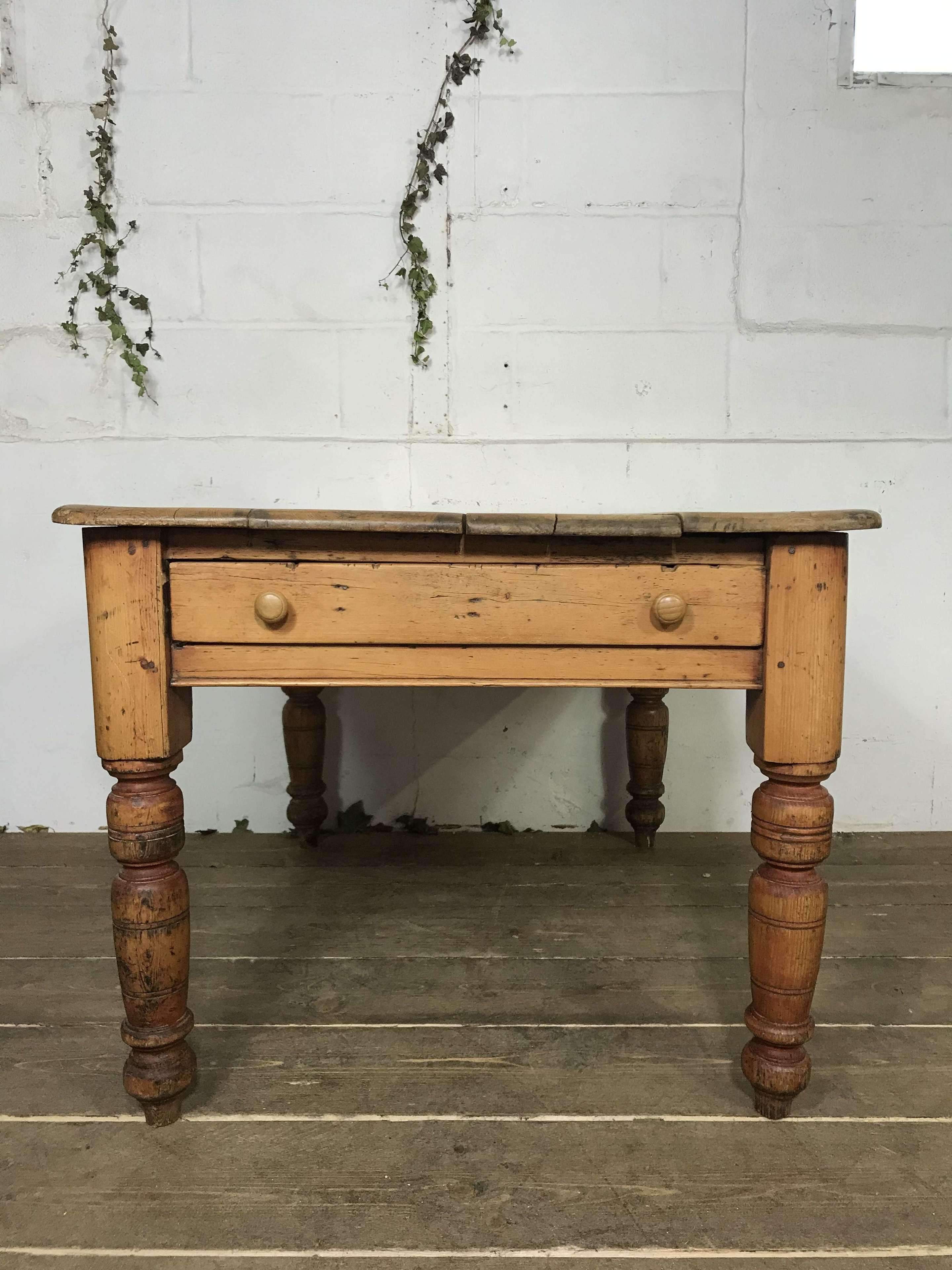 Pine farmhouse table c.1900