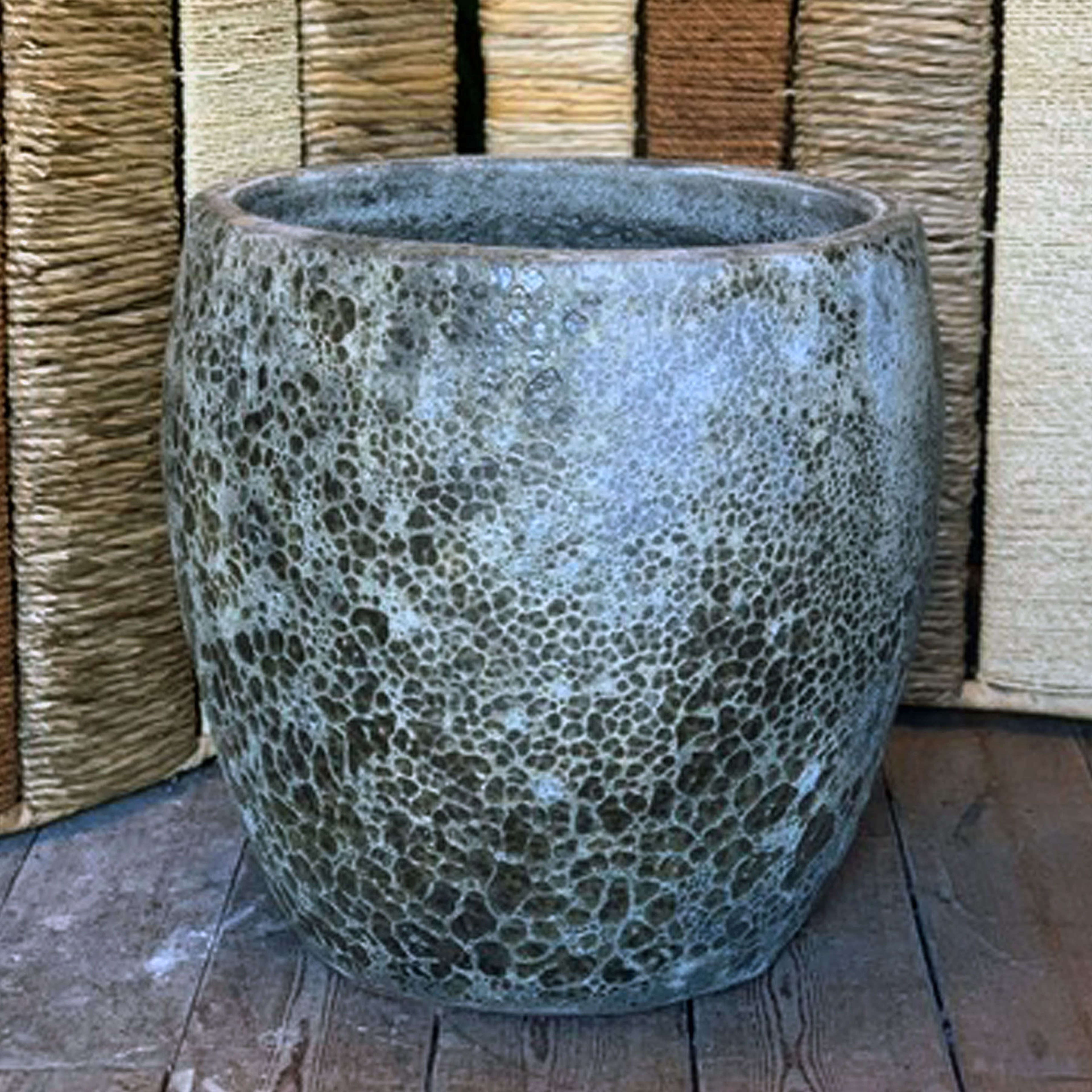 Large Textured Garden Pot