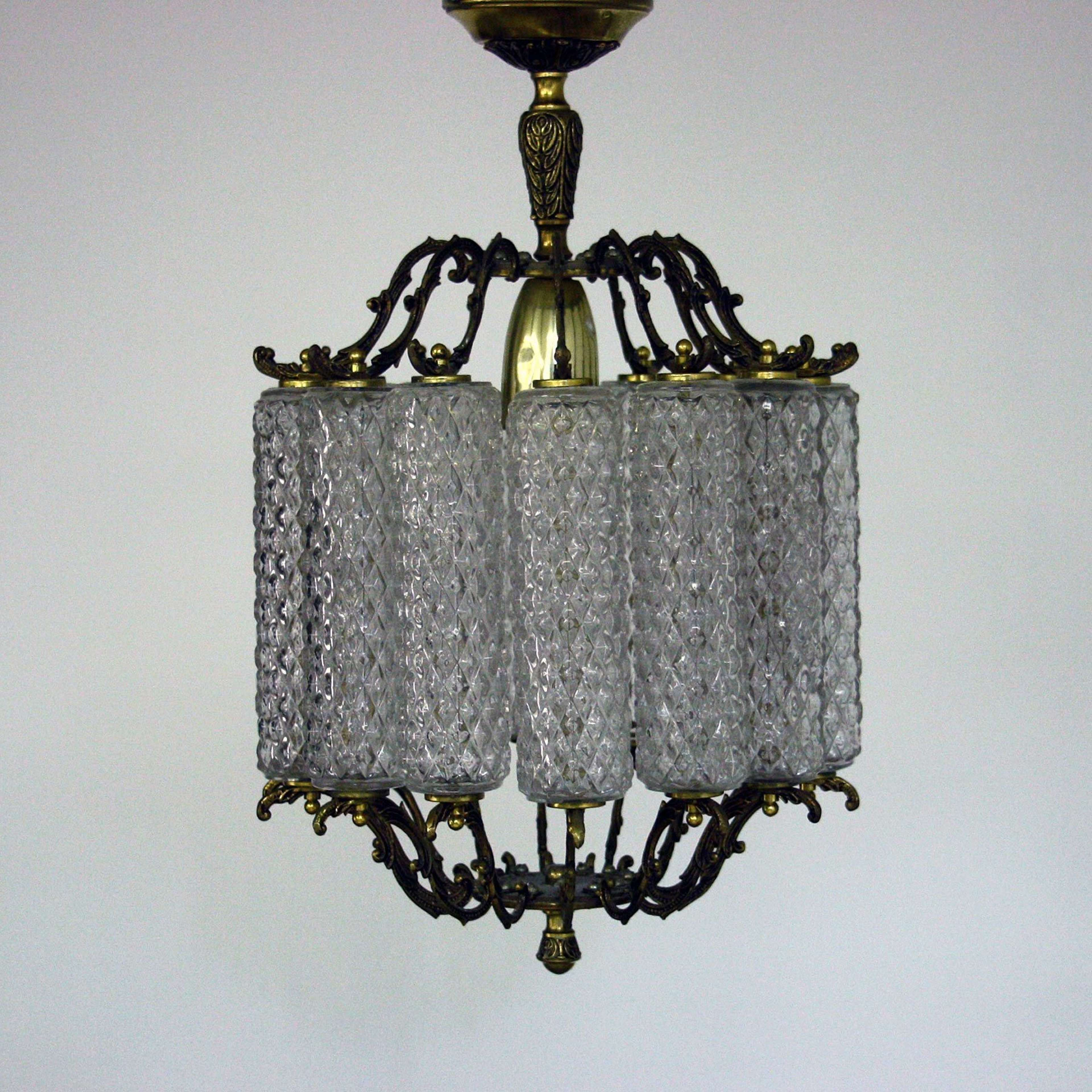 Vintage & New Stained Glass Chandeliers | Chairish