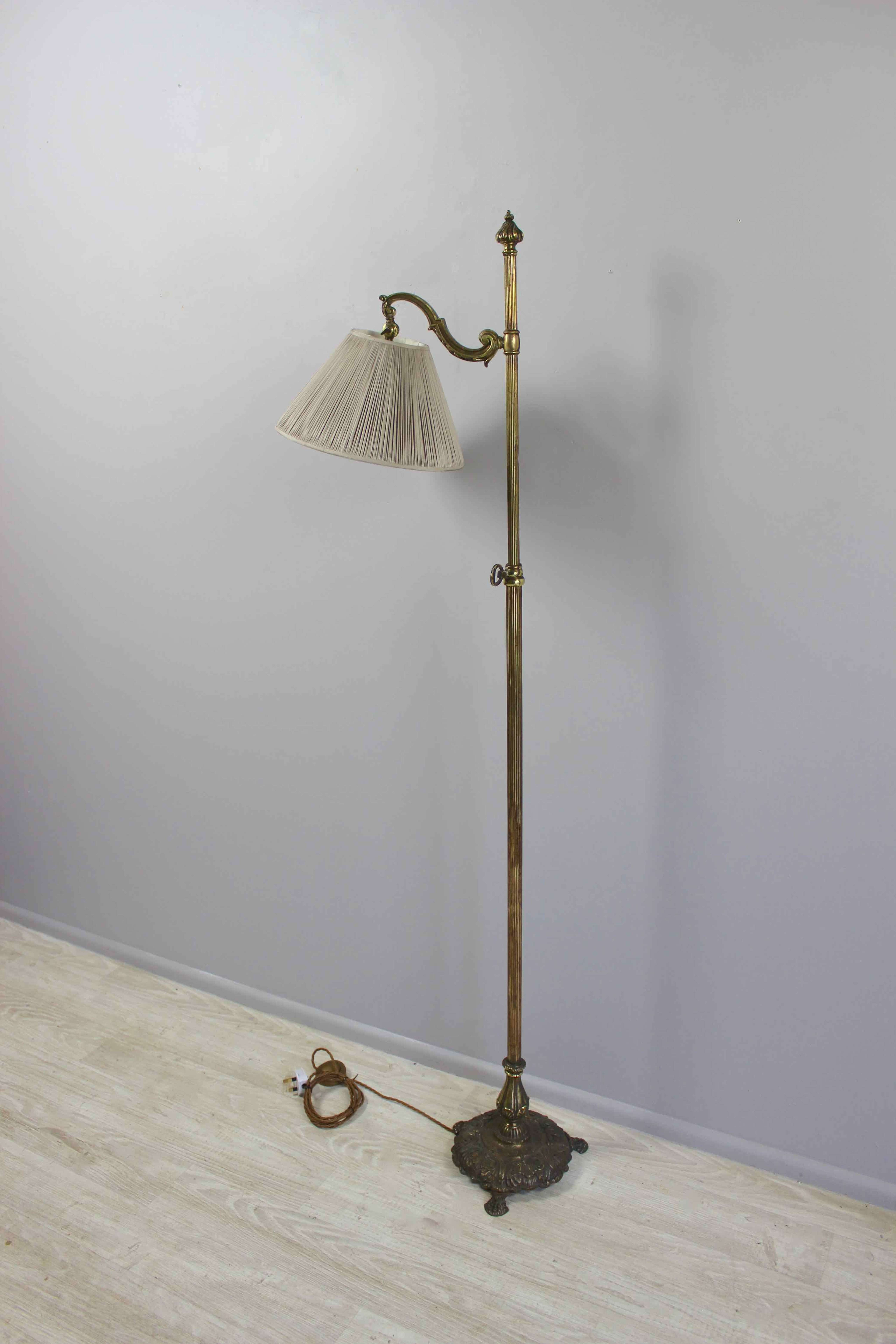 Unusual adjustable  country house library light