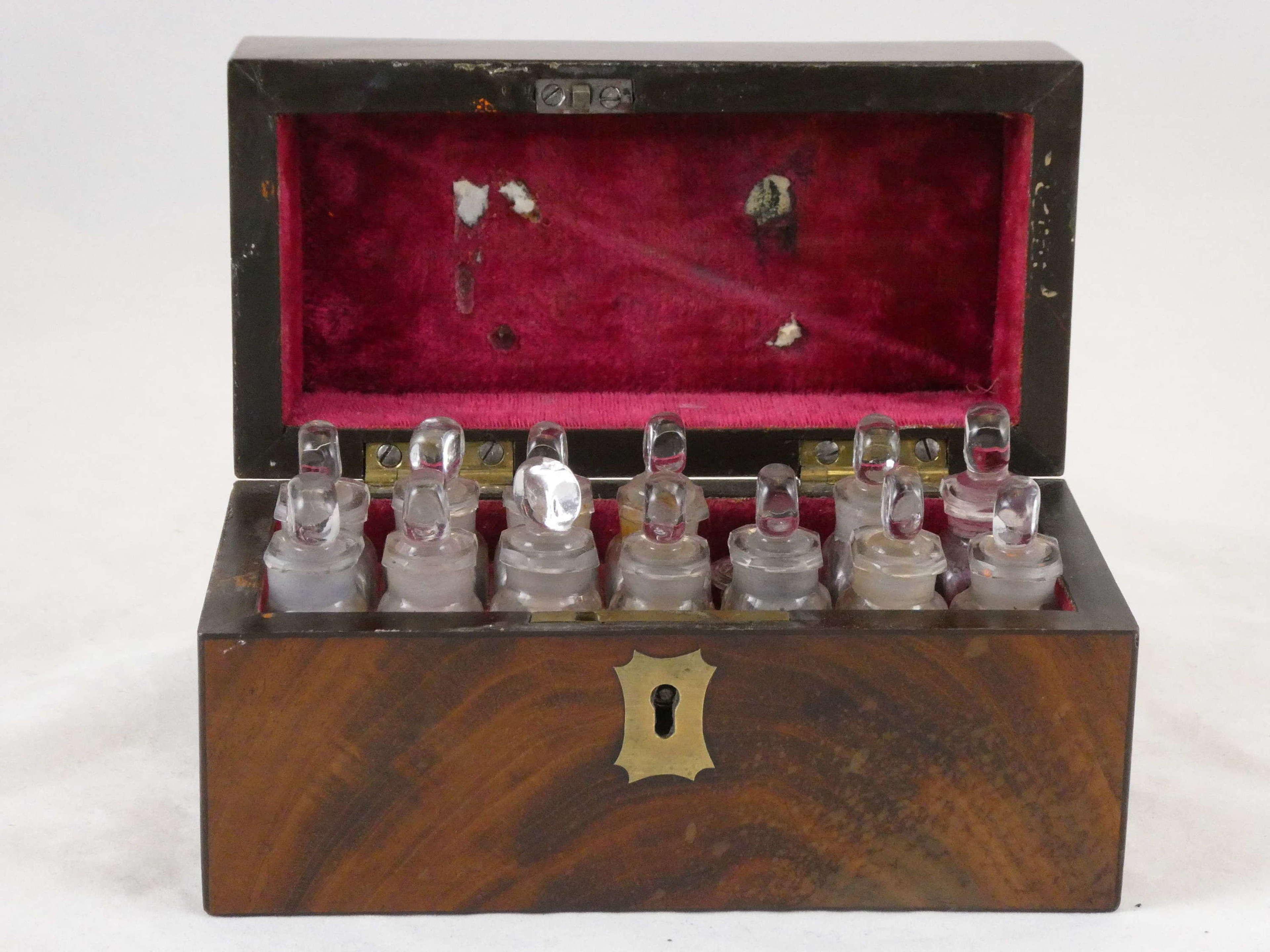Early 19th Century Mahogany Apothecary Box