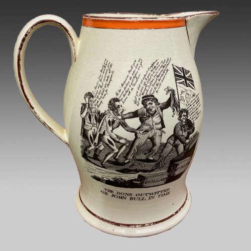 Georgian Keeling Porcelain Cream Jug circa 1805