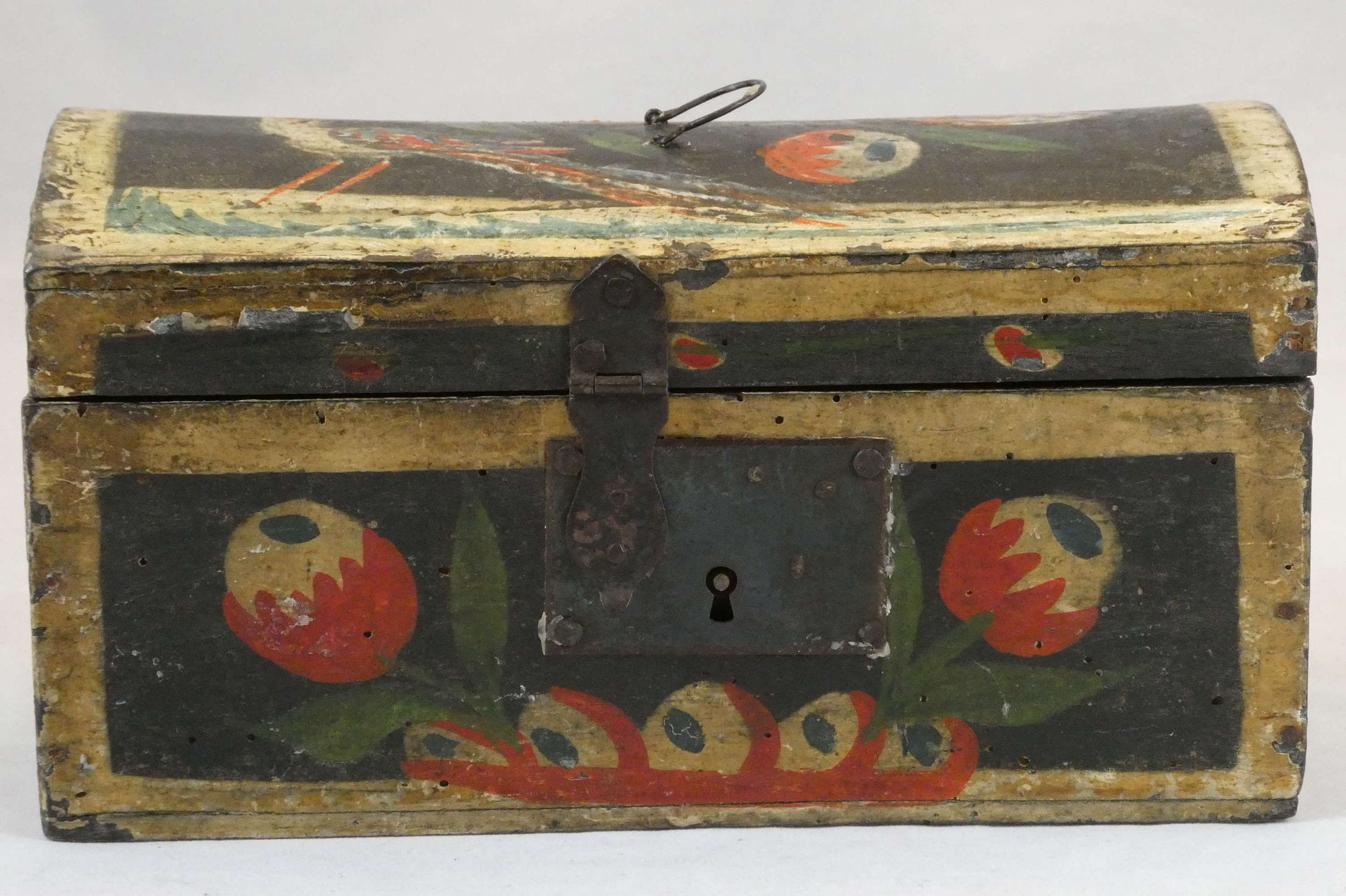 Painted Box, circa 1800