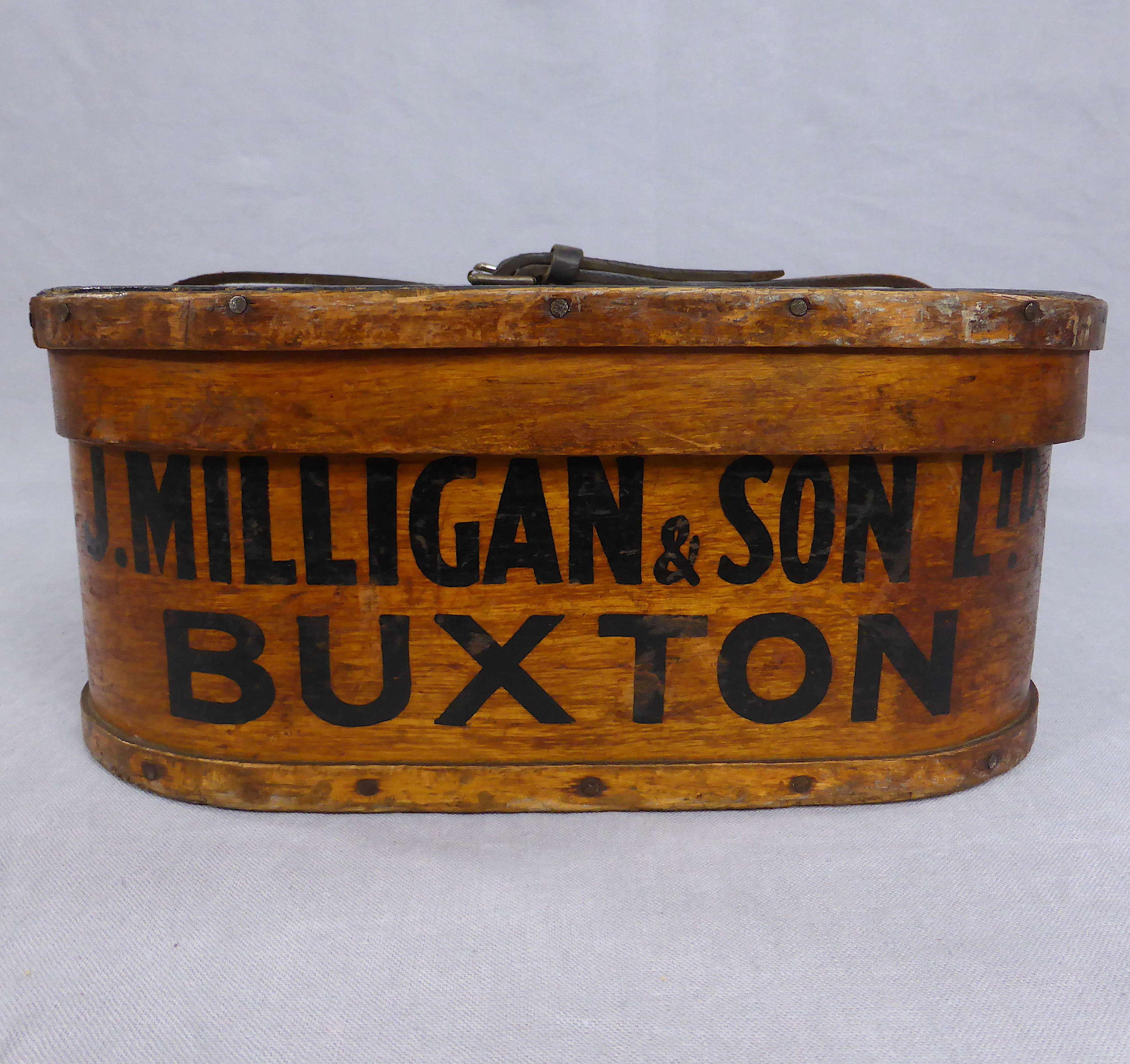 Edwardian Bent Wood Drapery Box