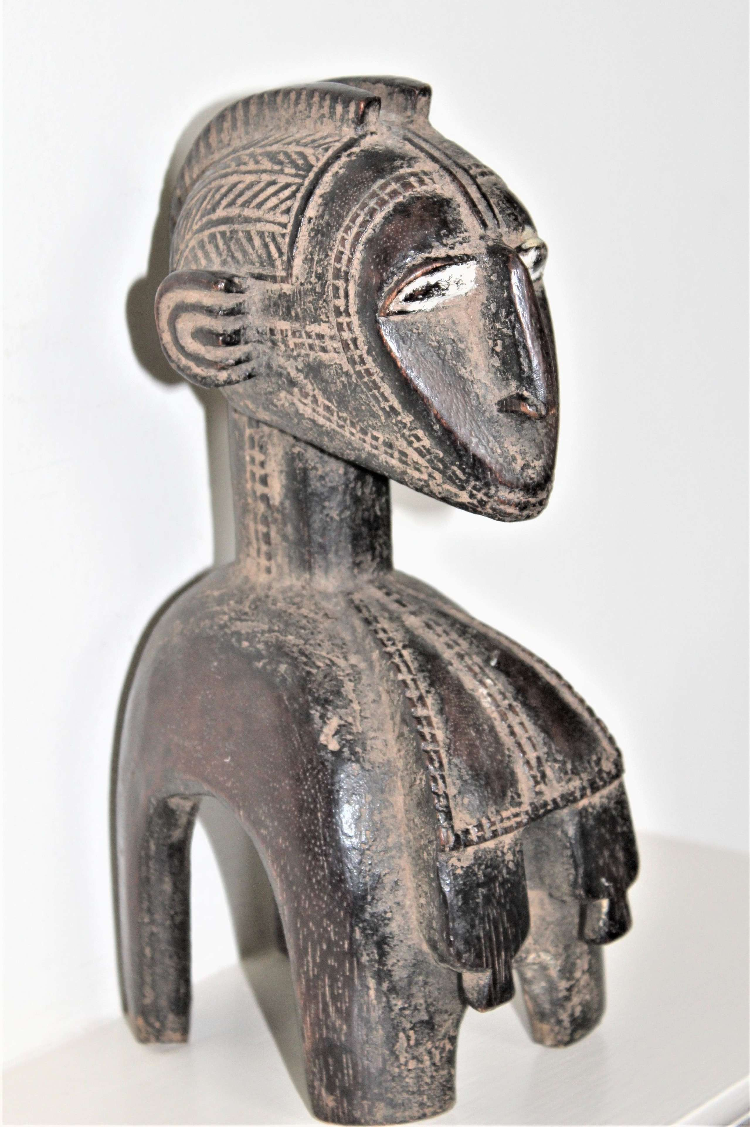 A very fine example of a Baga Nimba shoulder mask