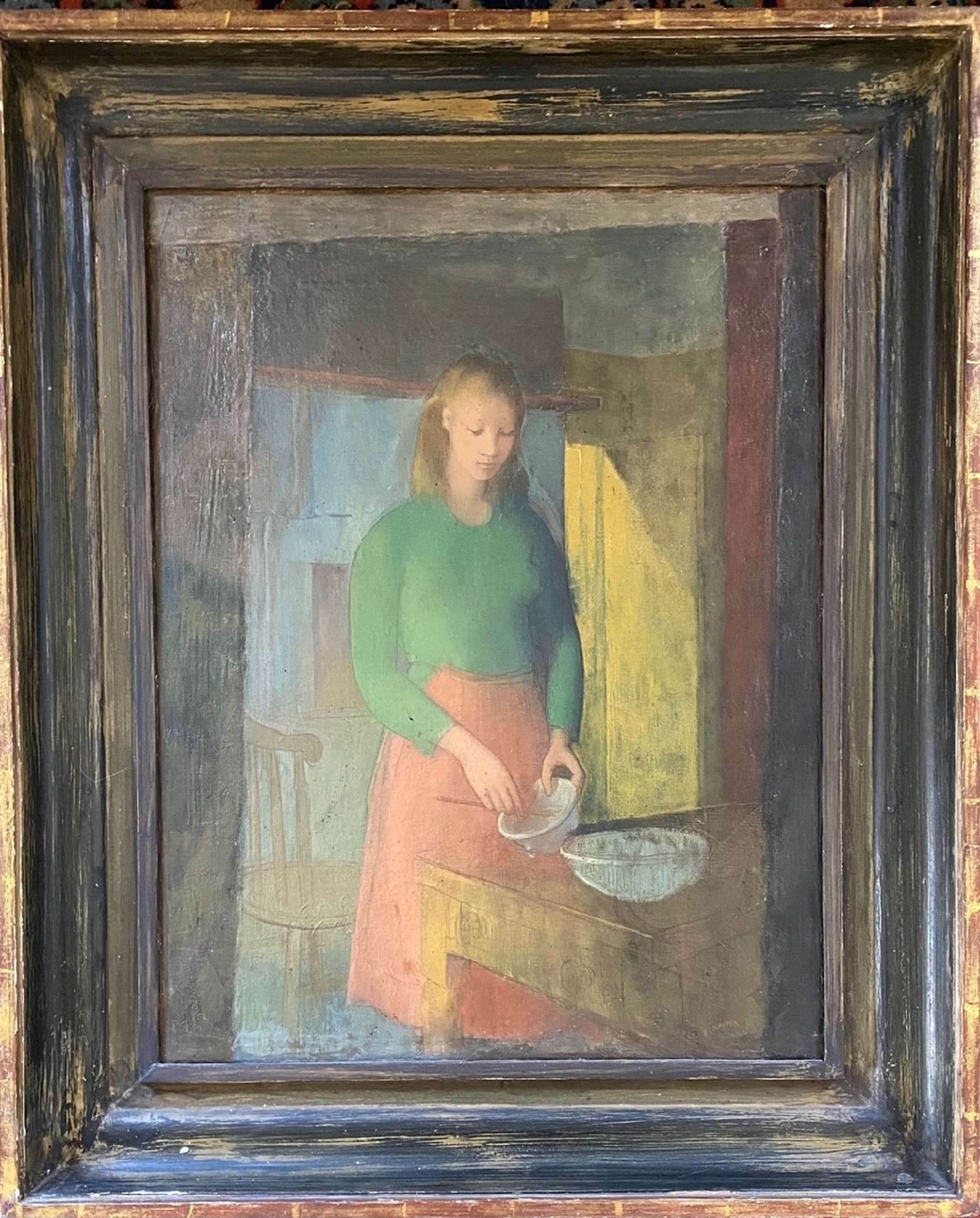 John Napper. 'Pauline cooking'.