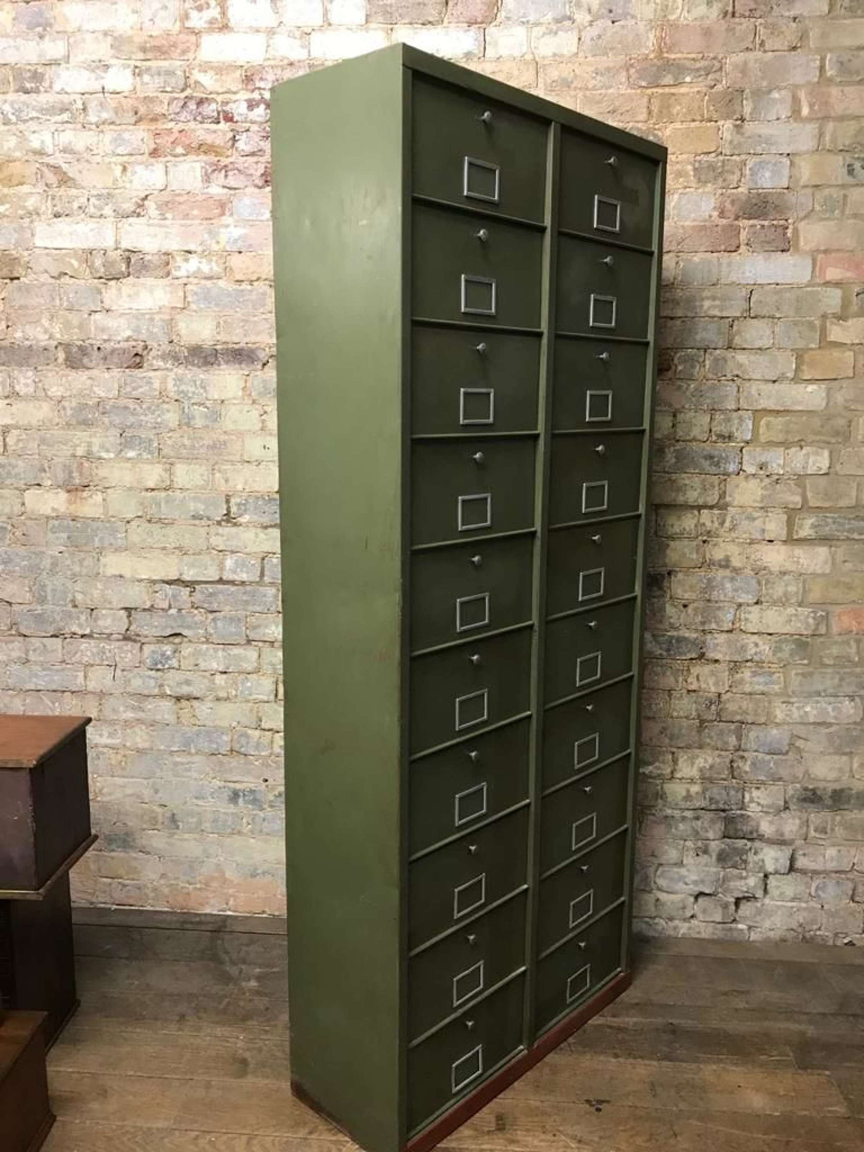 Vintage French Storage Cabinet