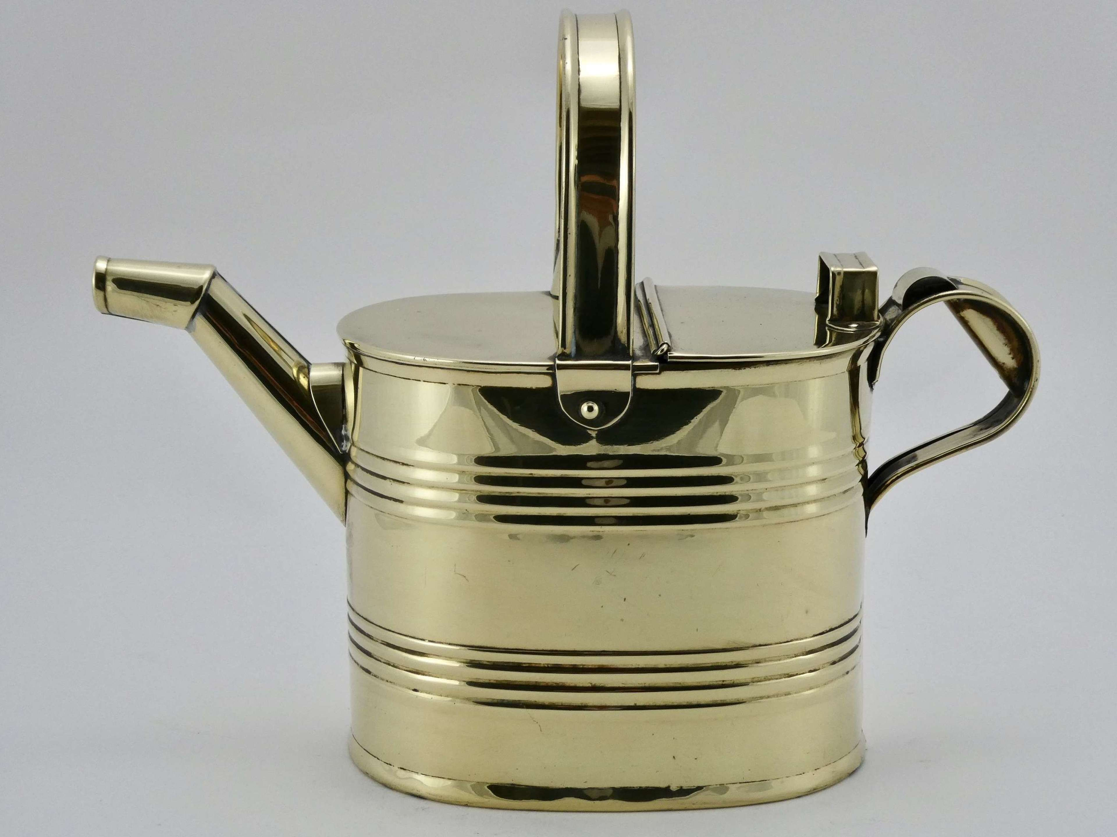 Victorian Brass Water Can