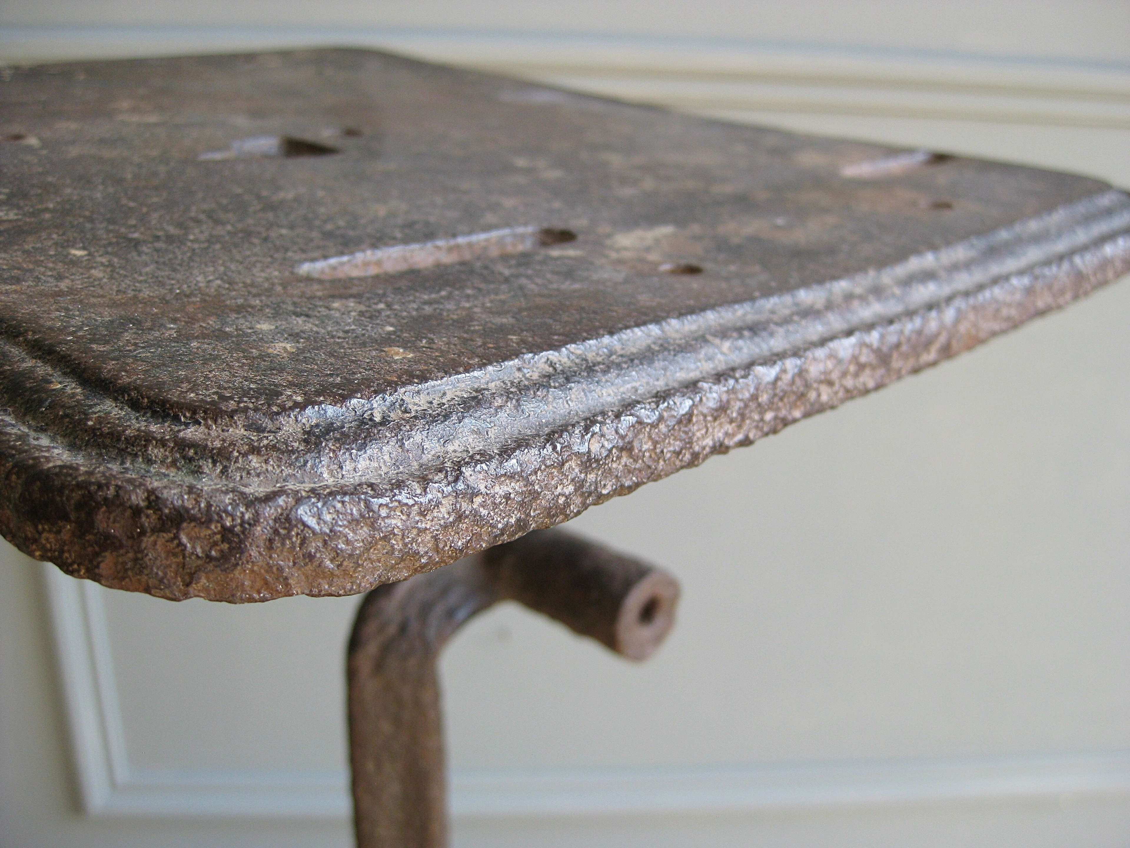 19th century cast iron machinists table