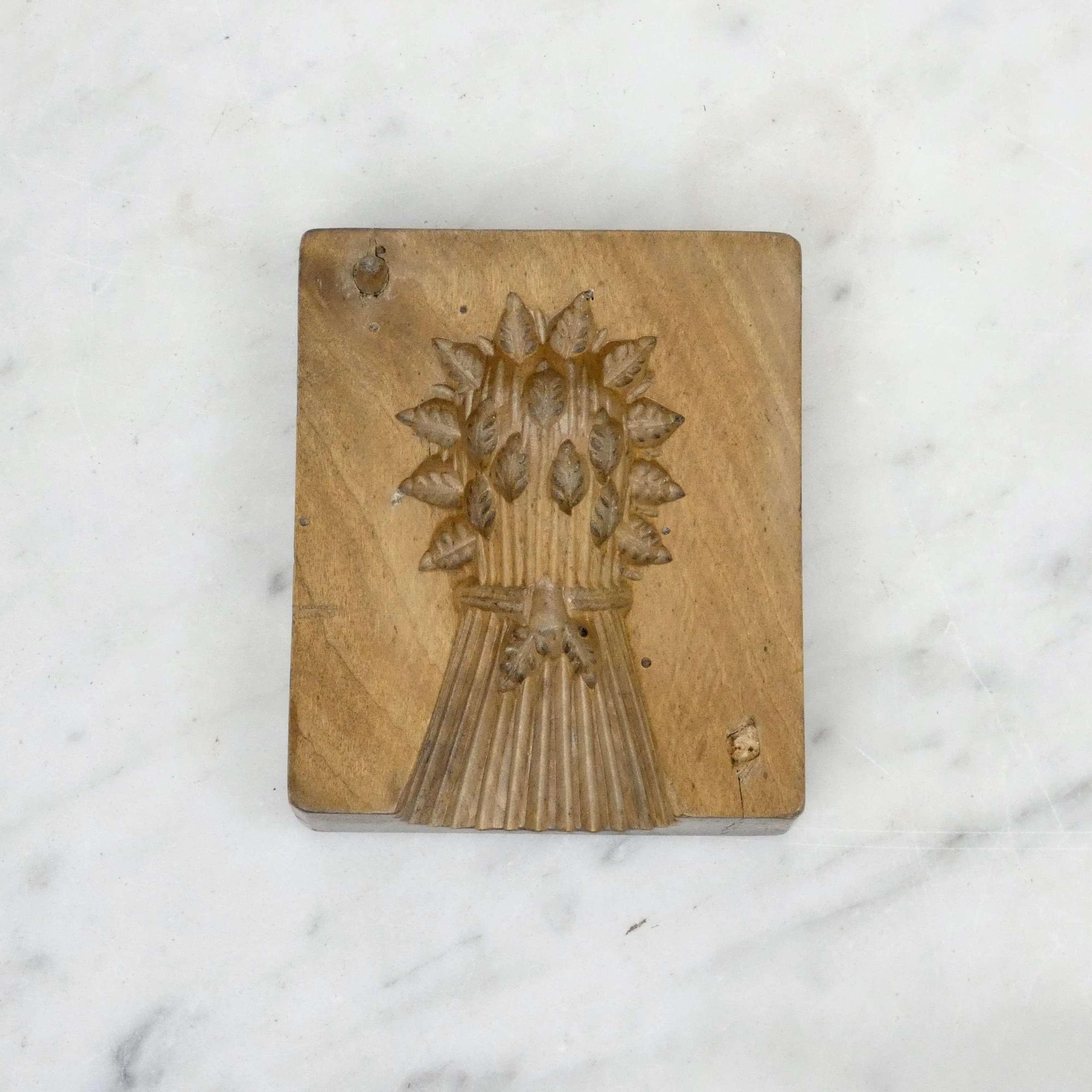 Wheatsheaf butter mould