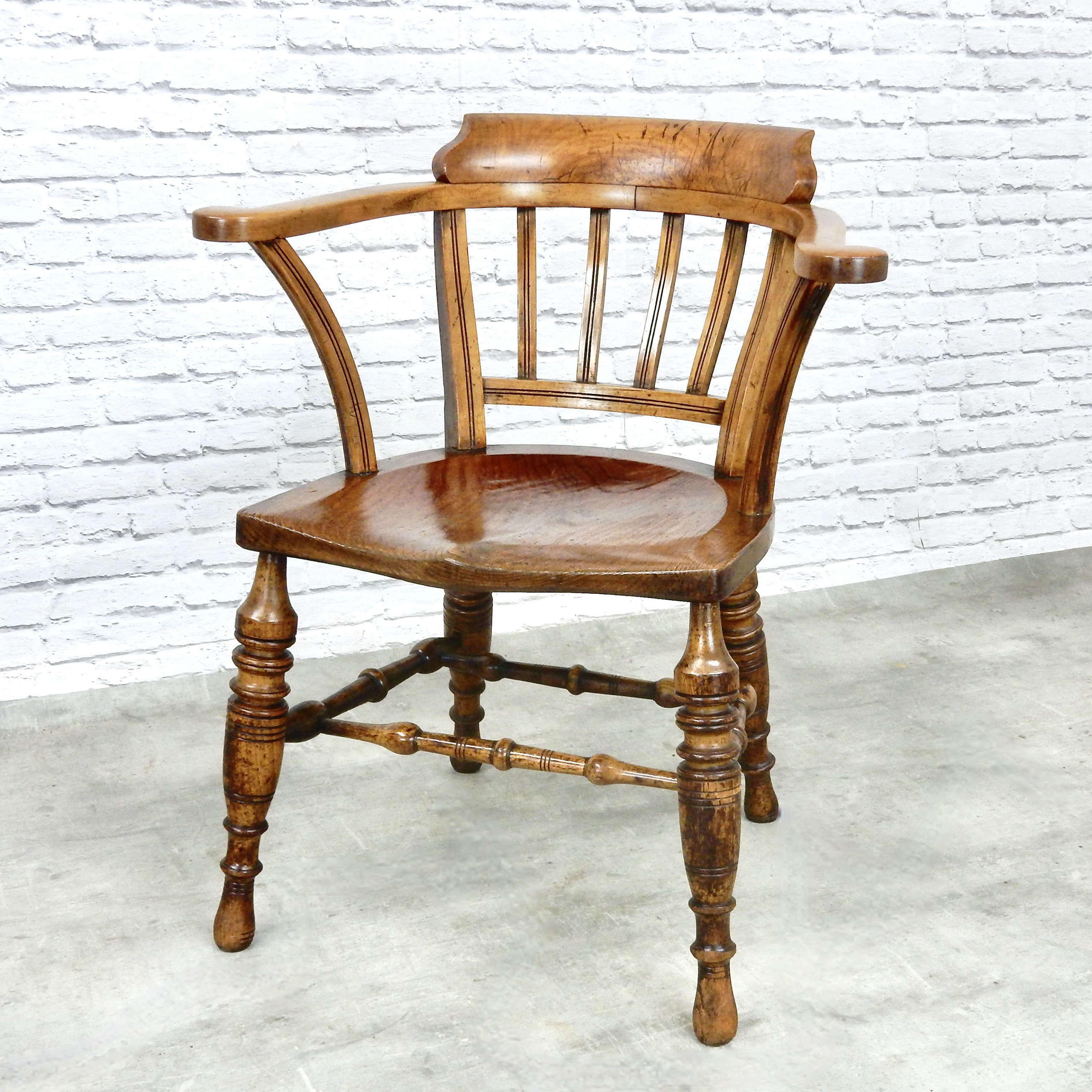 Victorian Captain's Chair