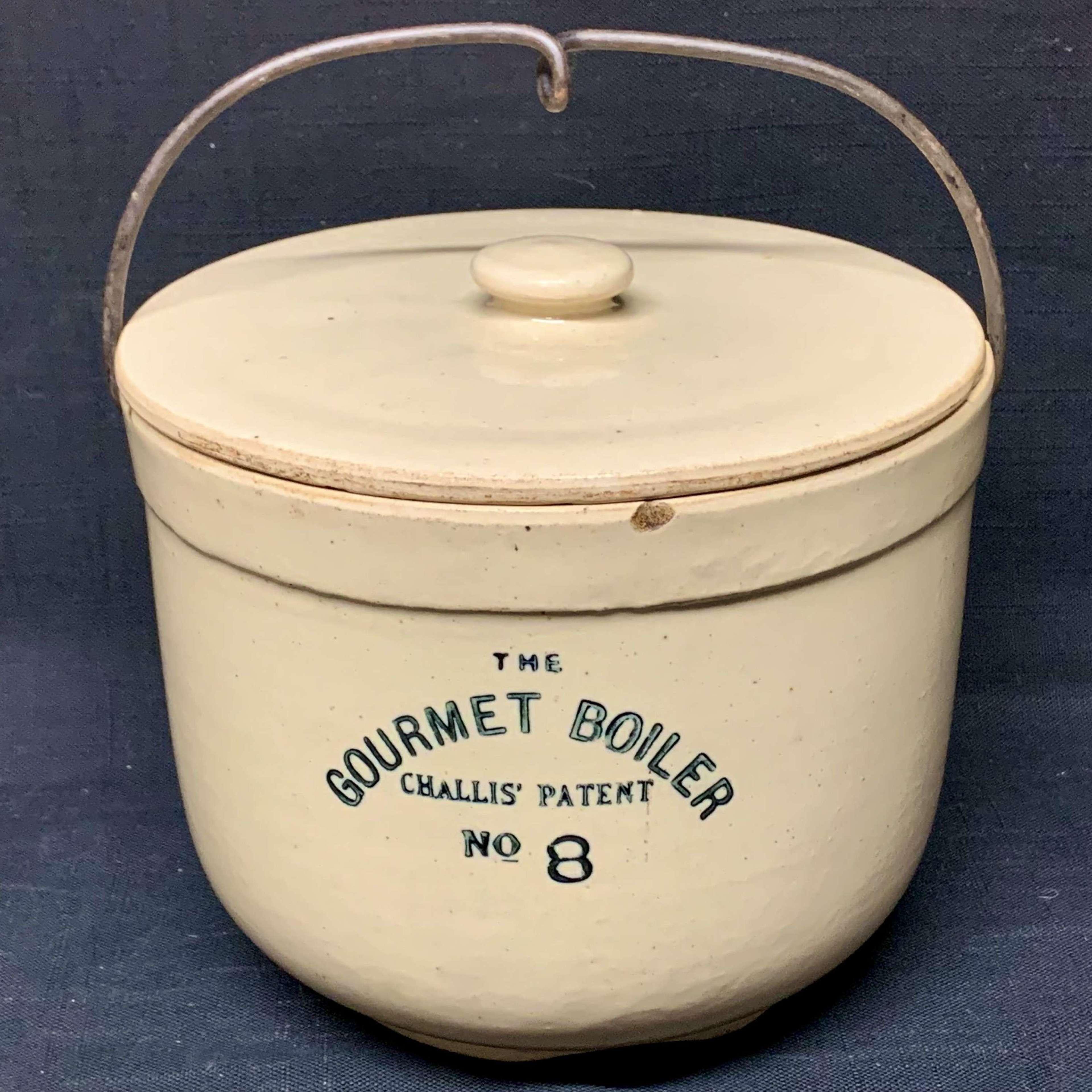 Edwardian Gourmet Pudding Boiler~ 1890
