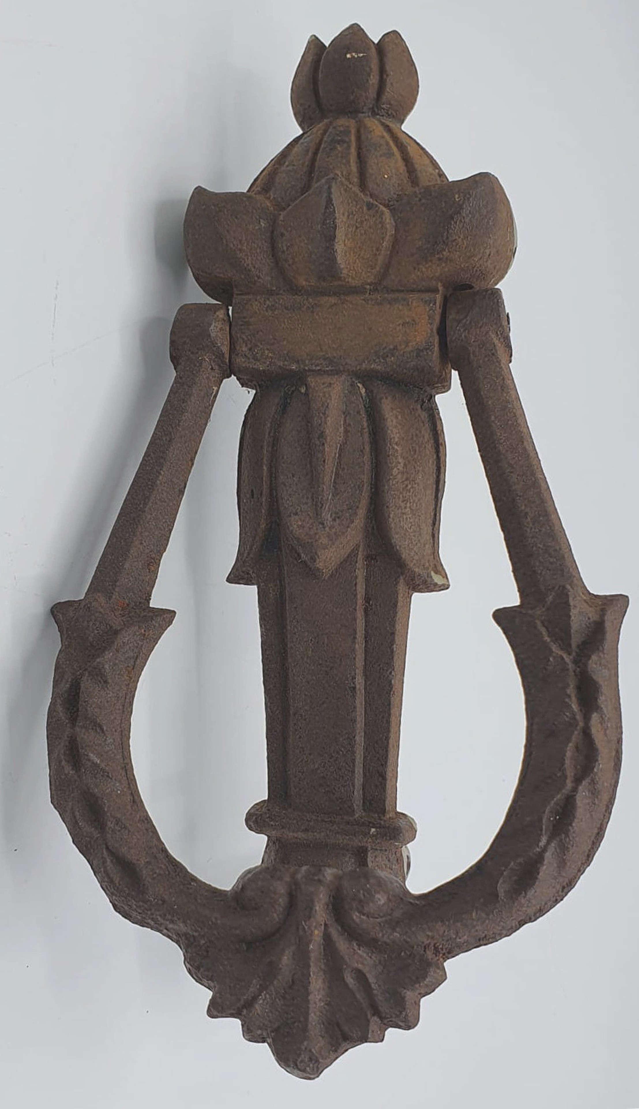 19th Century Cast Iron Door Knocker