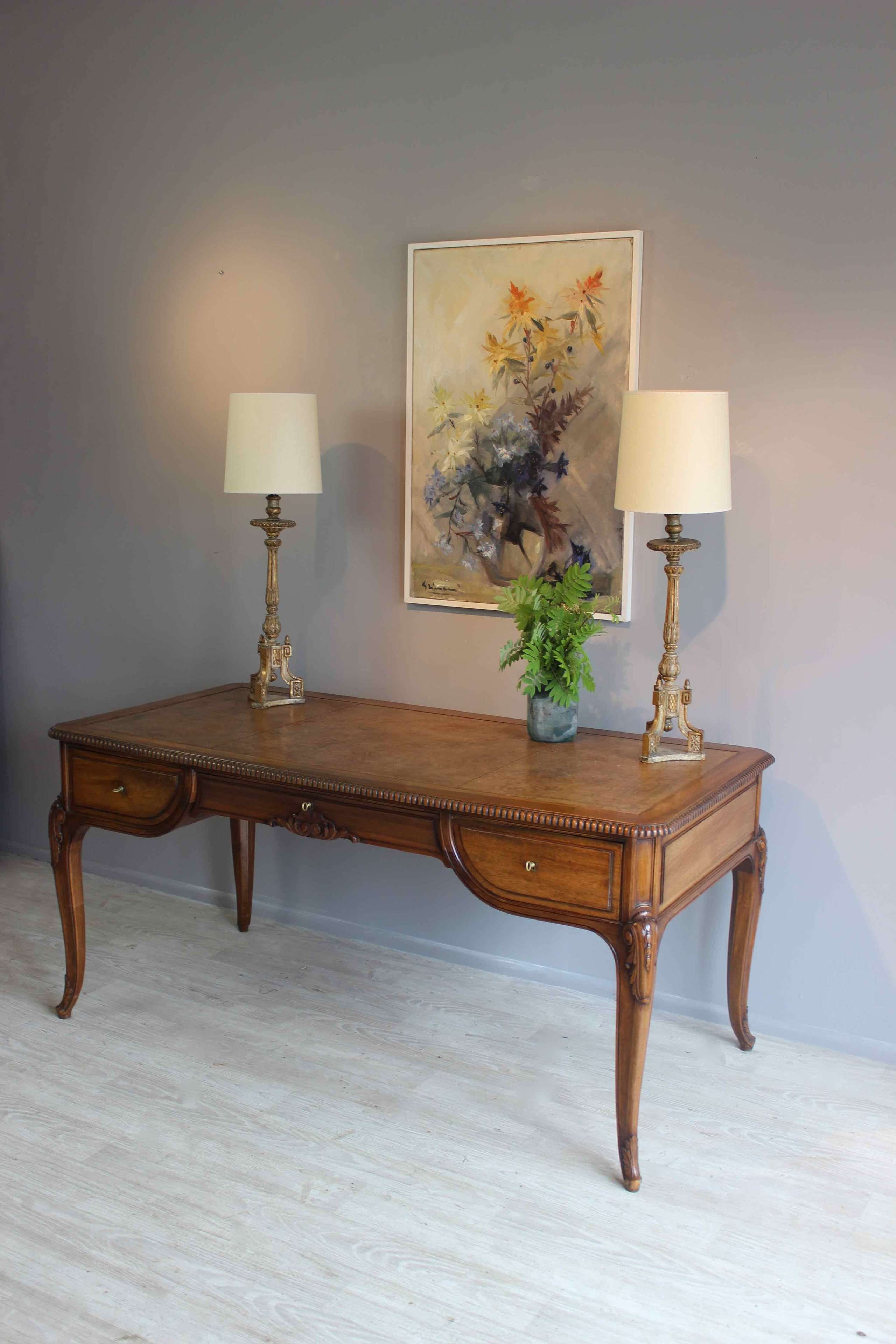 Country House French library table/desk