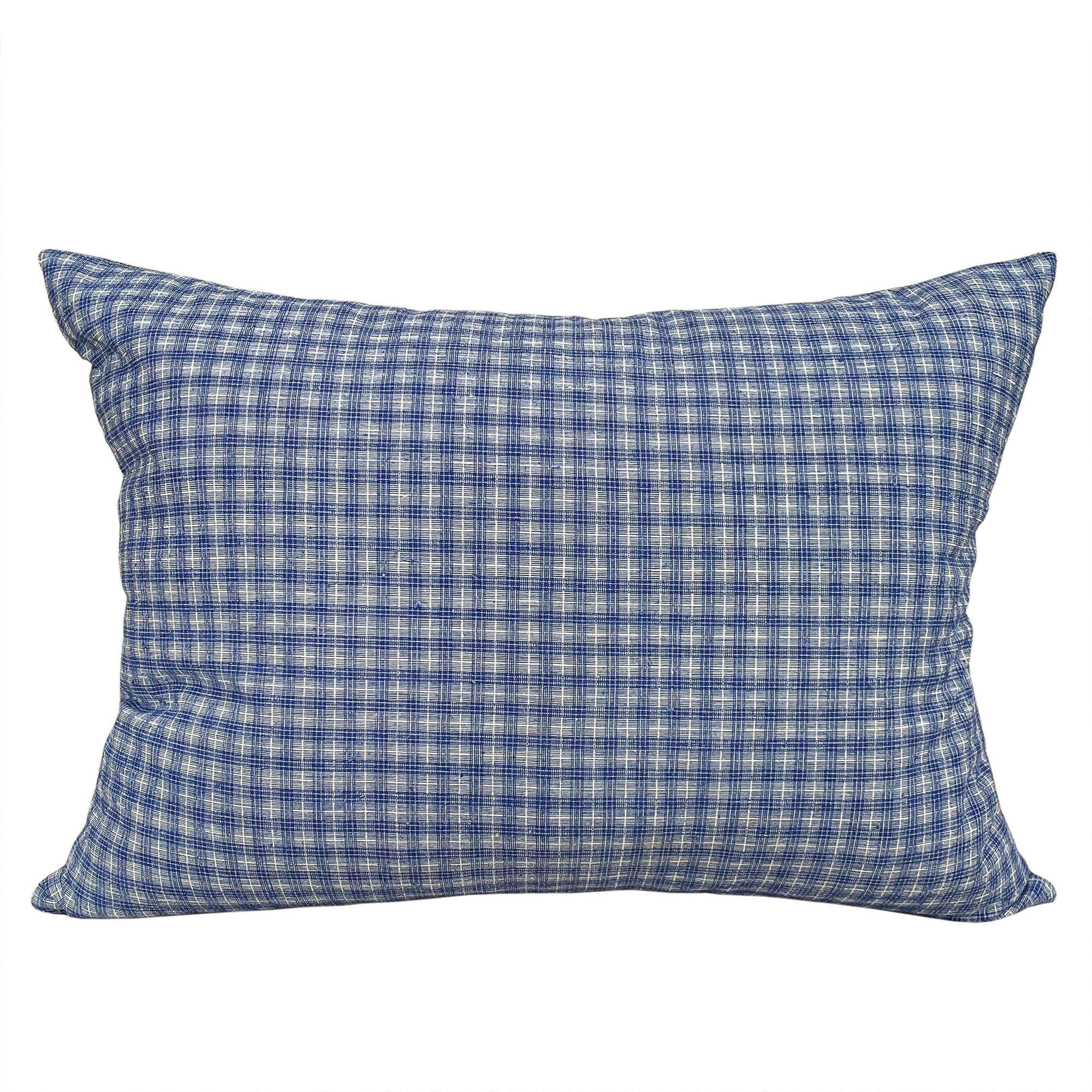 Songjiang cushions - dark check