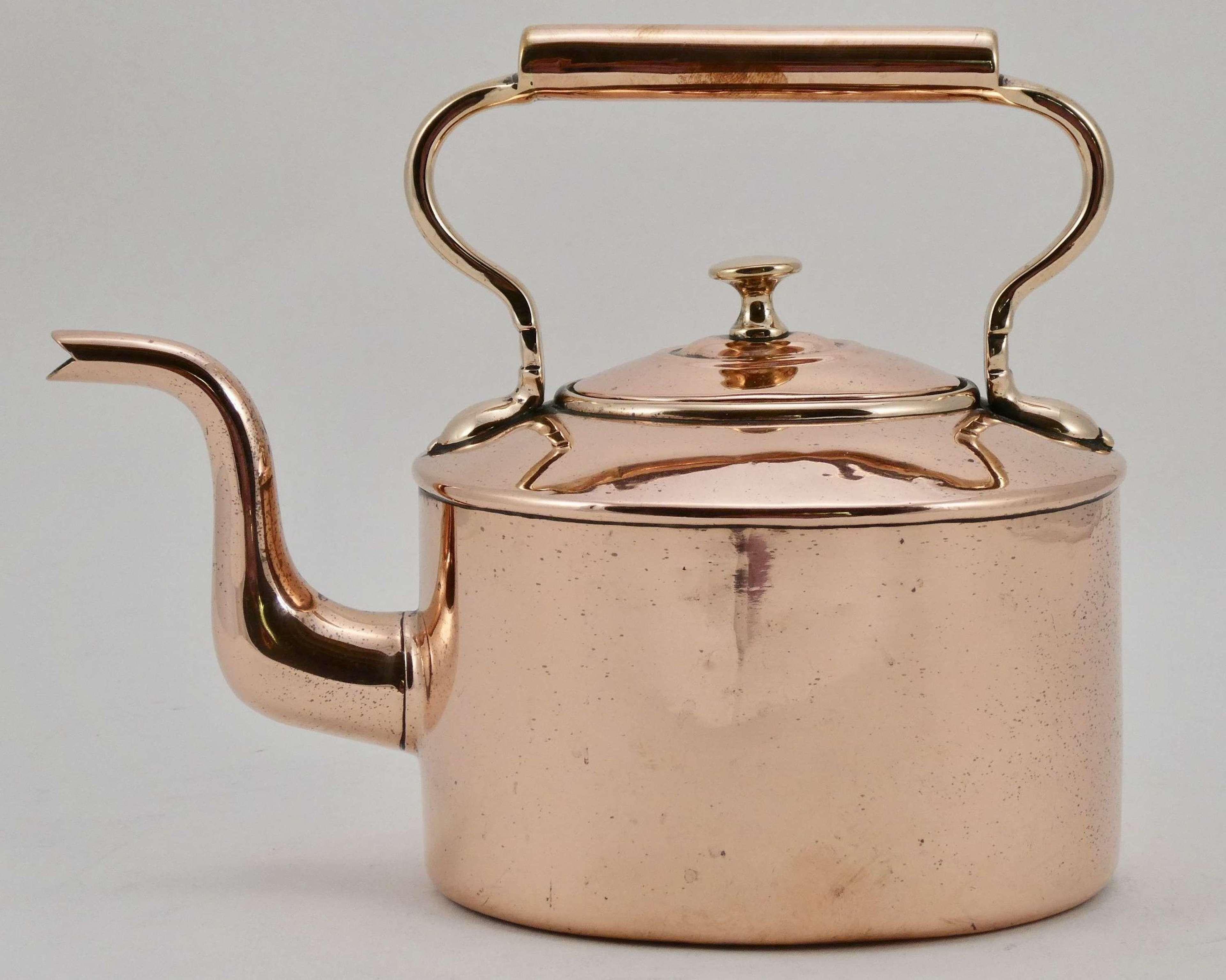 Small Copper Kettle, circa 1870
