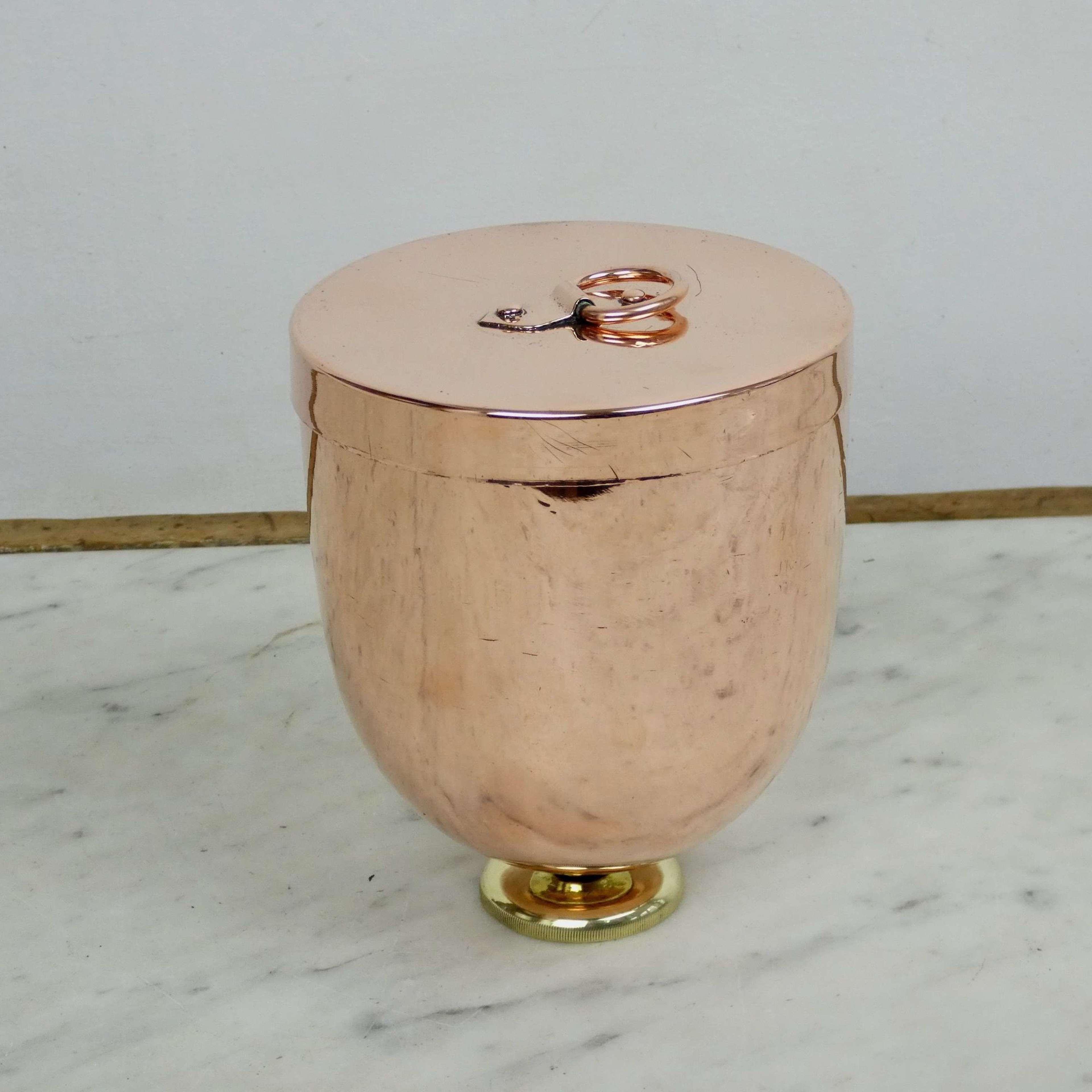 Copper Ice Cream Bombe Mould