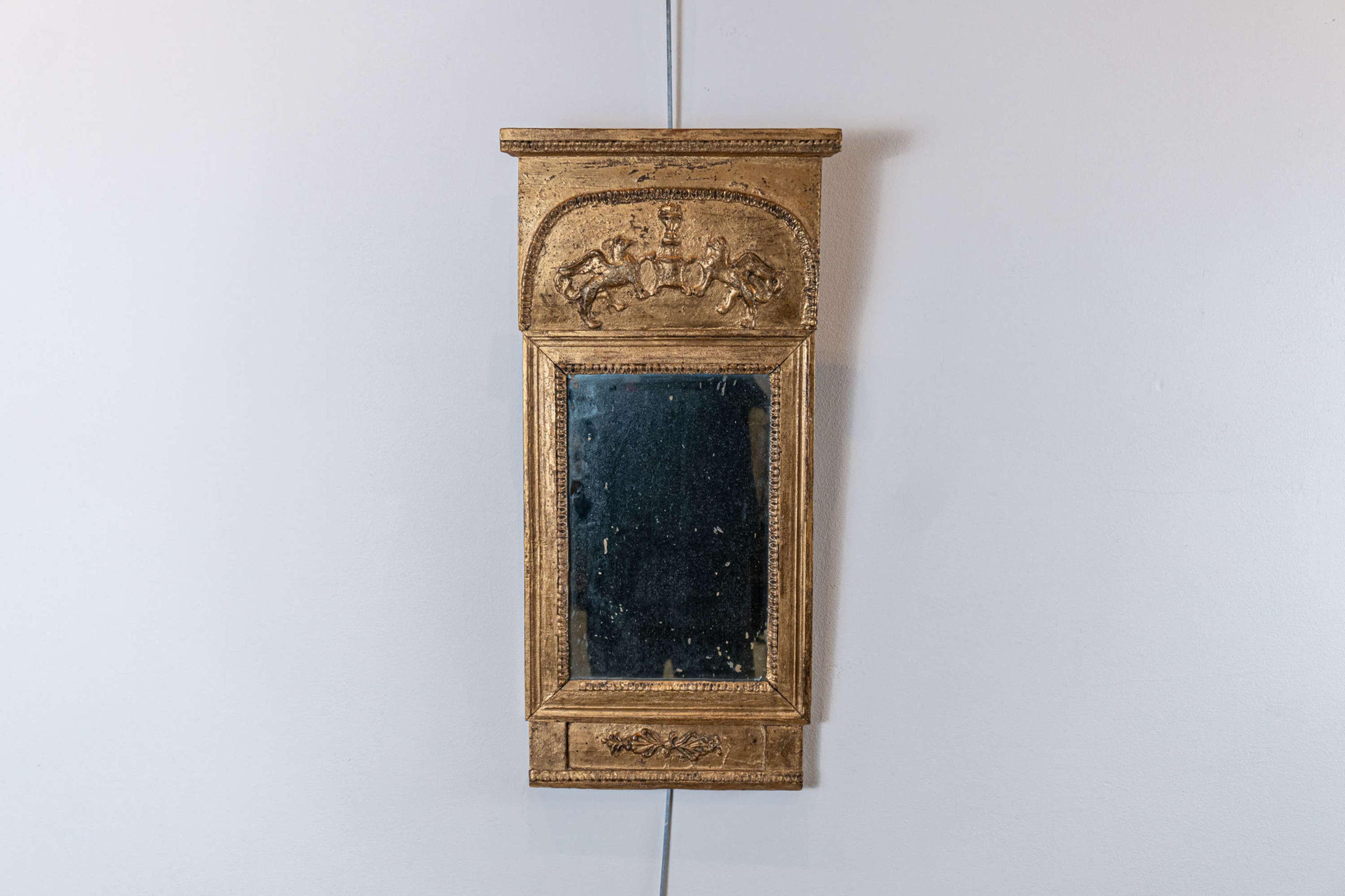 Early C19th Swedish Empire Mirror