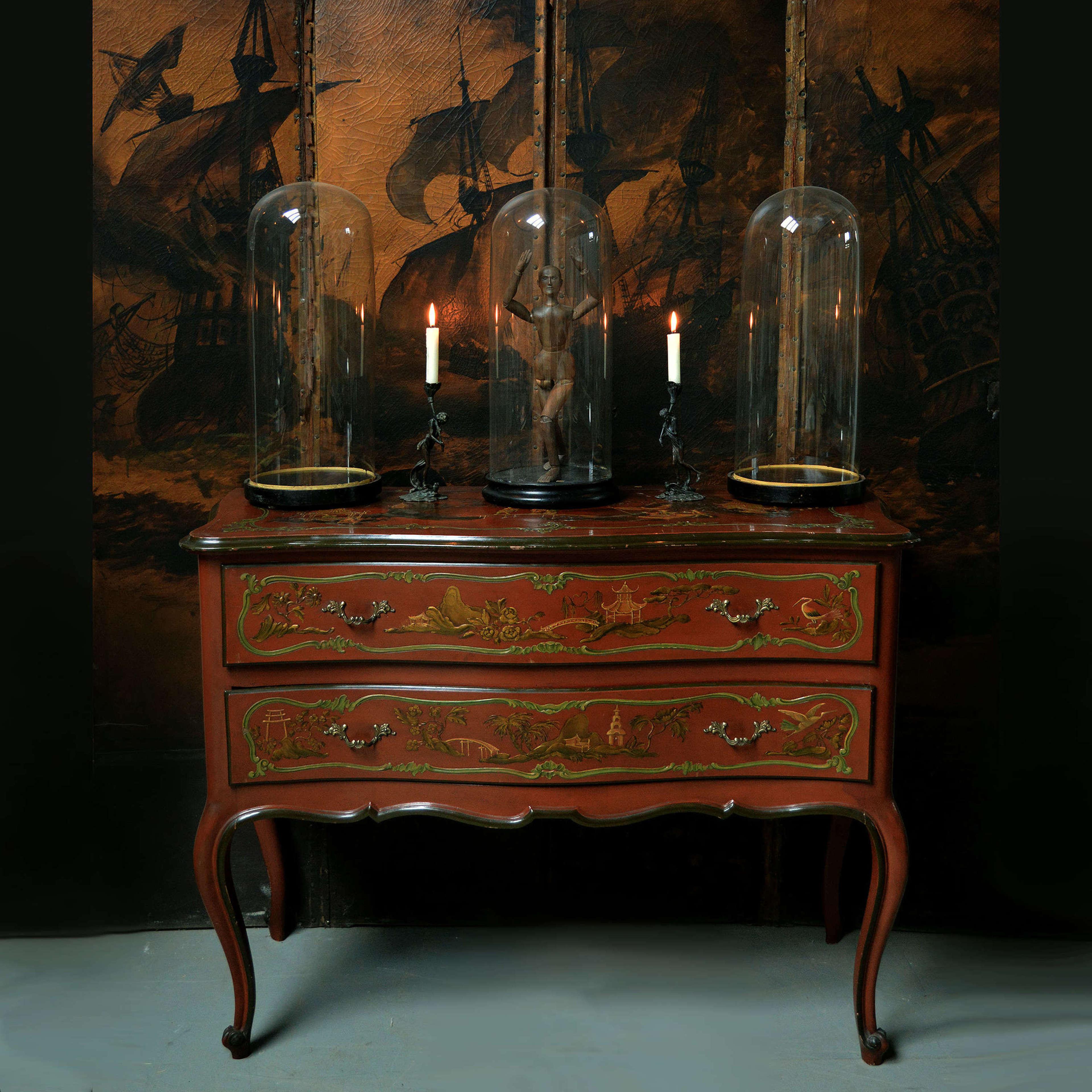 Venetian Chinoiserie Louis XV style Commode