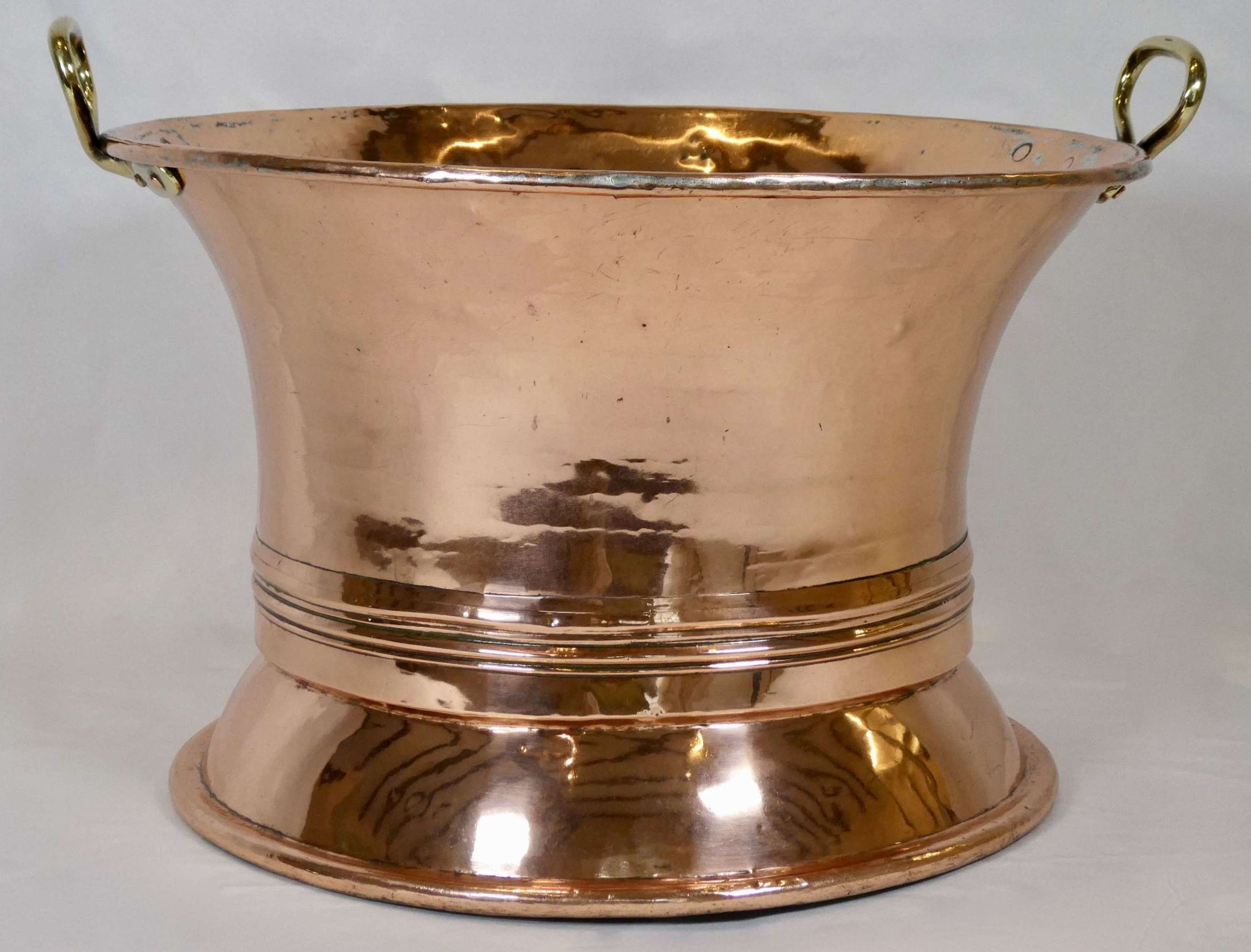 19th Century Copper Water Pan