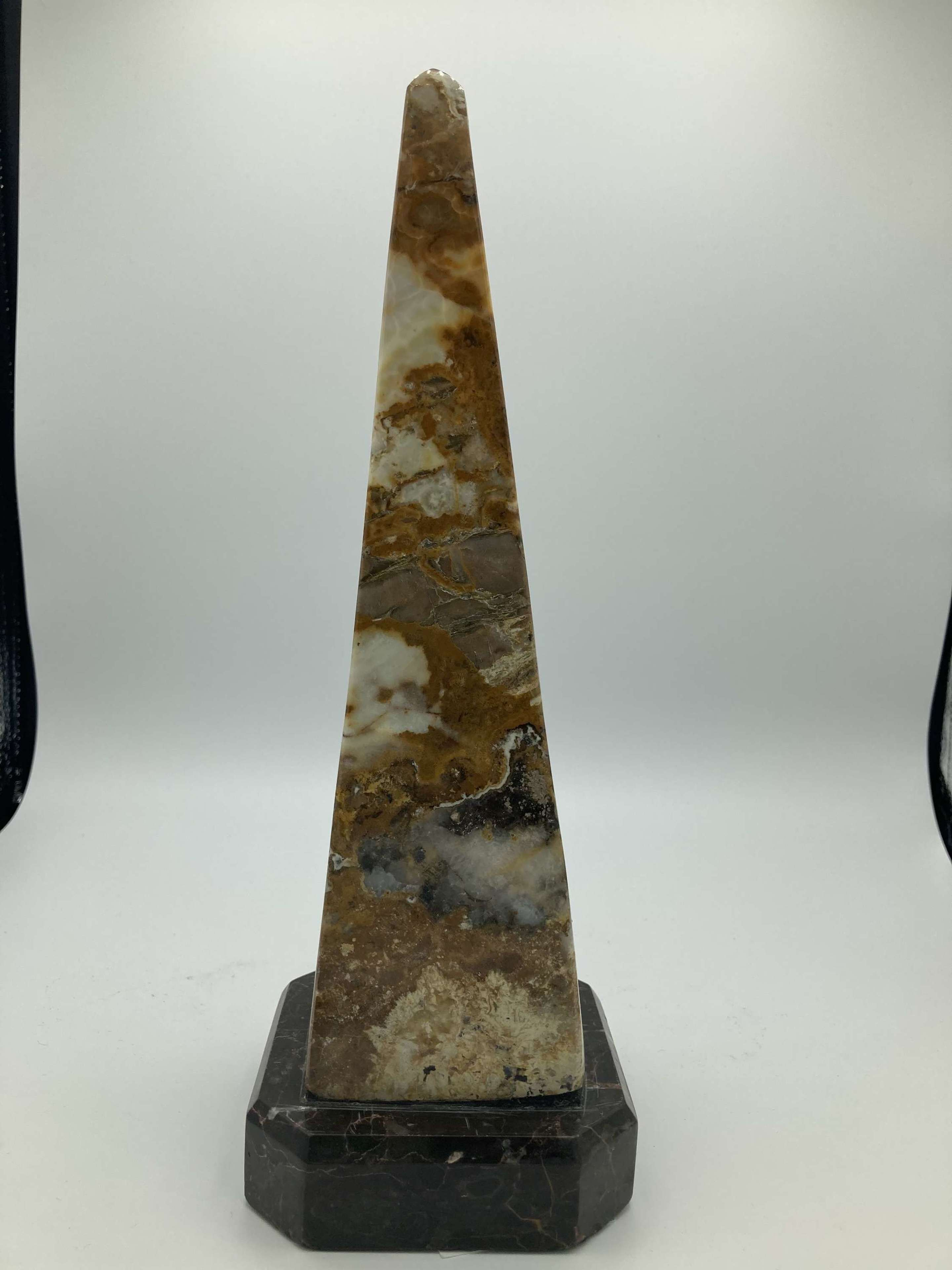 A Quirky Marble Obelisk