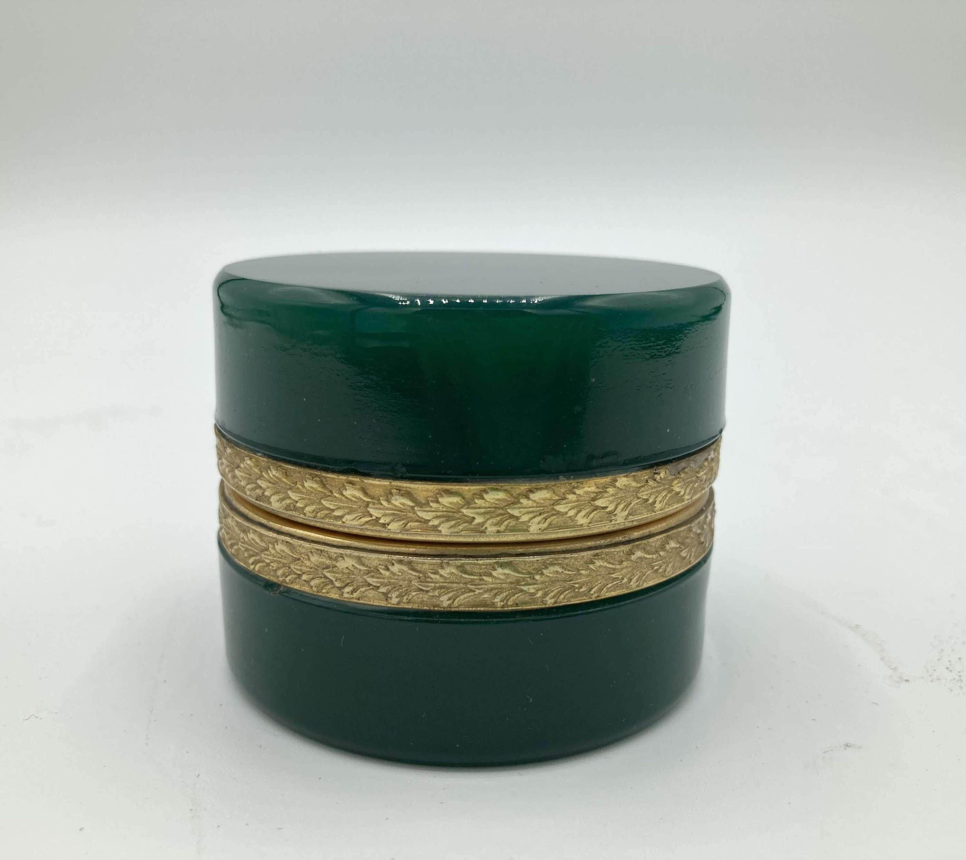 An Opaline Glass Murano Box