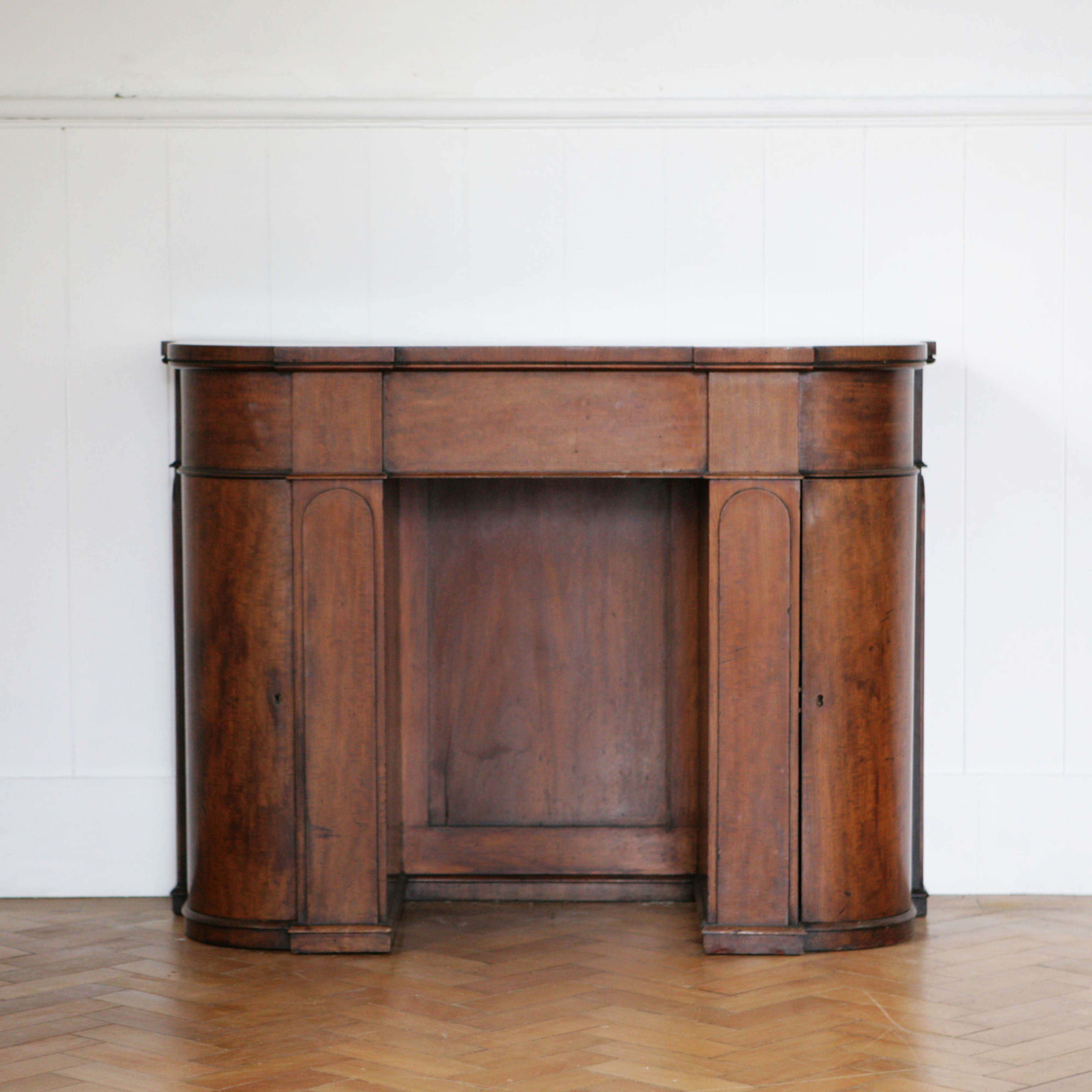 Beautifully designed and proportioned architectural sideboard.