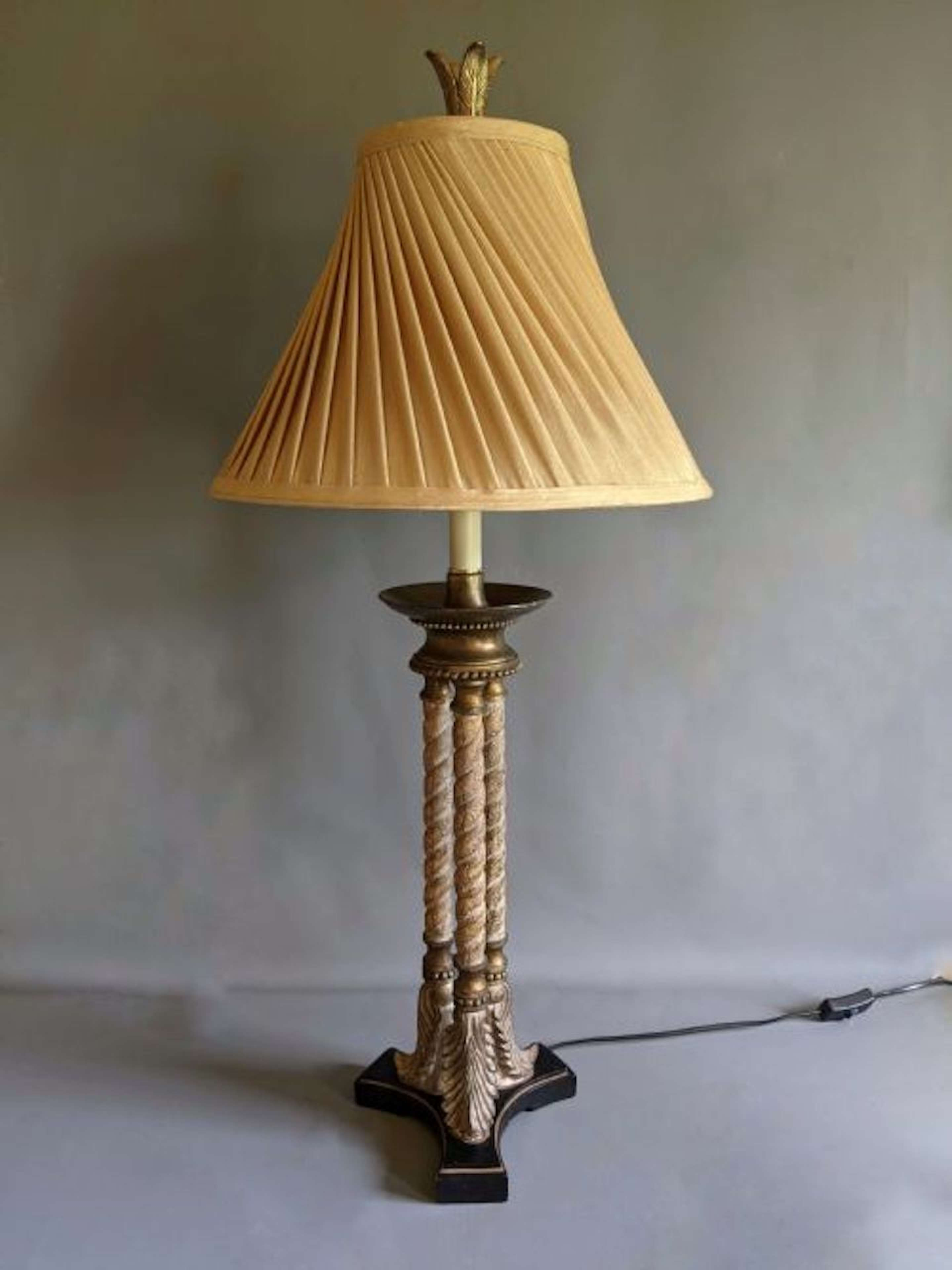 Unique Early 20th Century Table Lamp