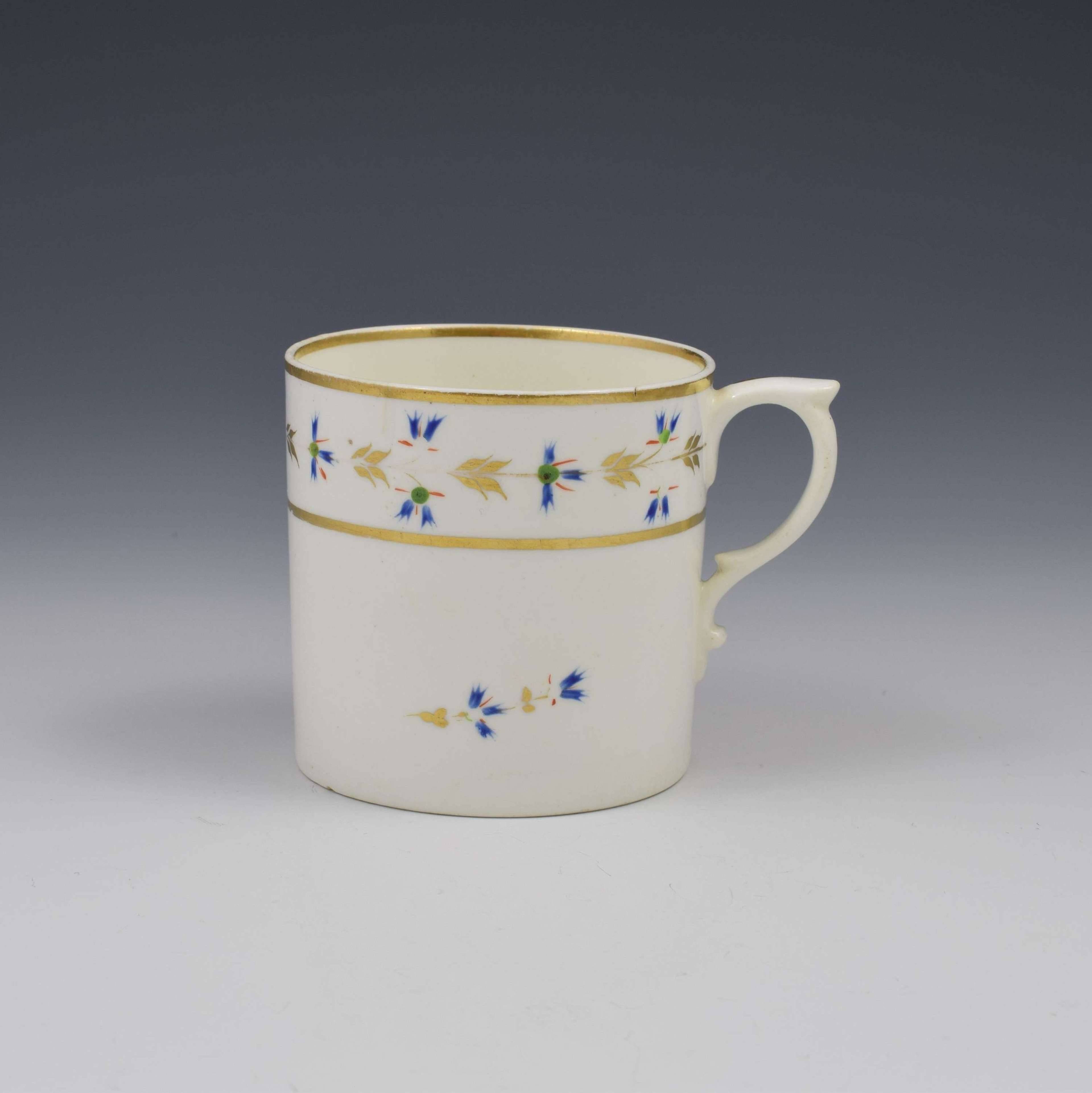 Bloor Derby Porcelain Coffee Can c.1820