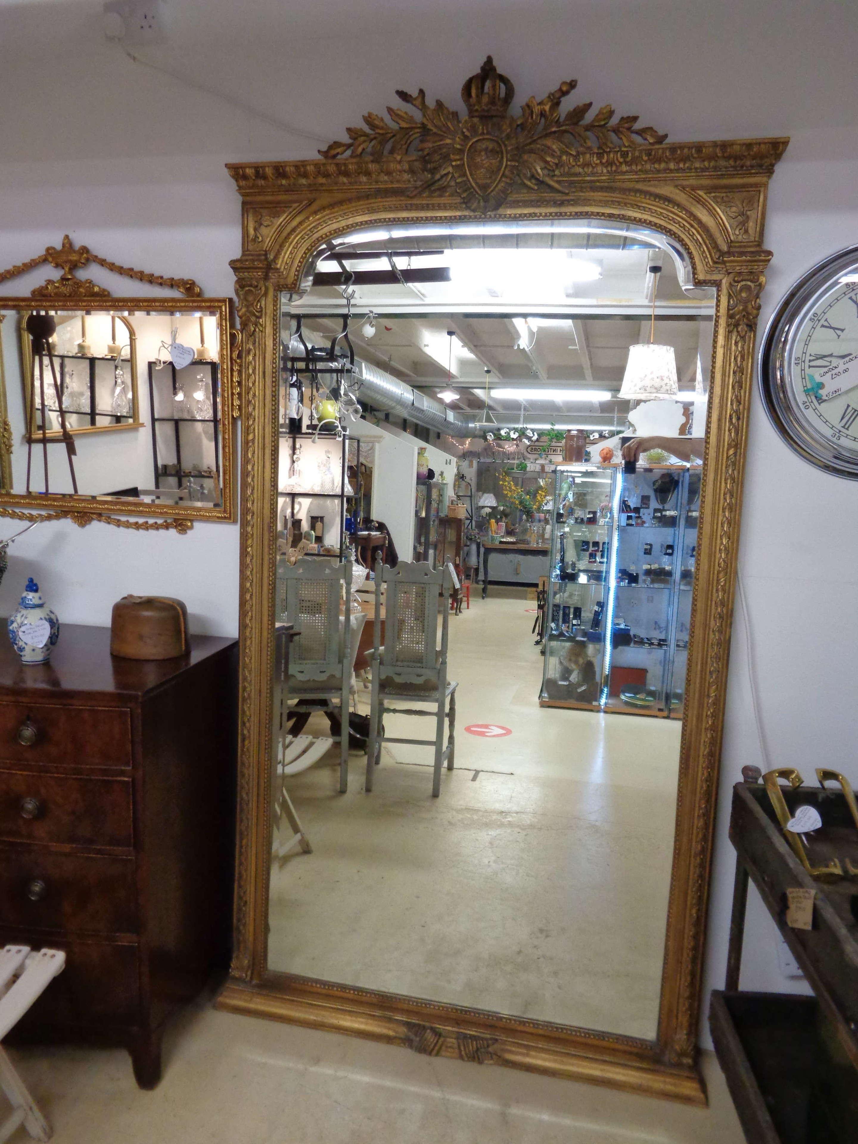Impressive Gilt Bevelled Mirror