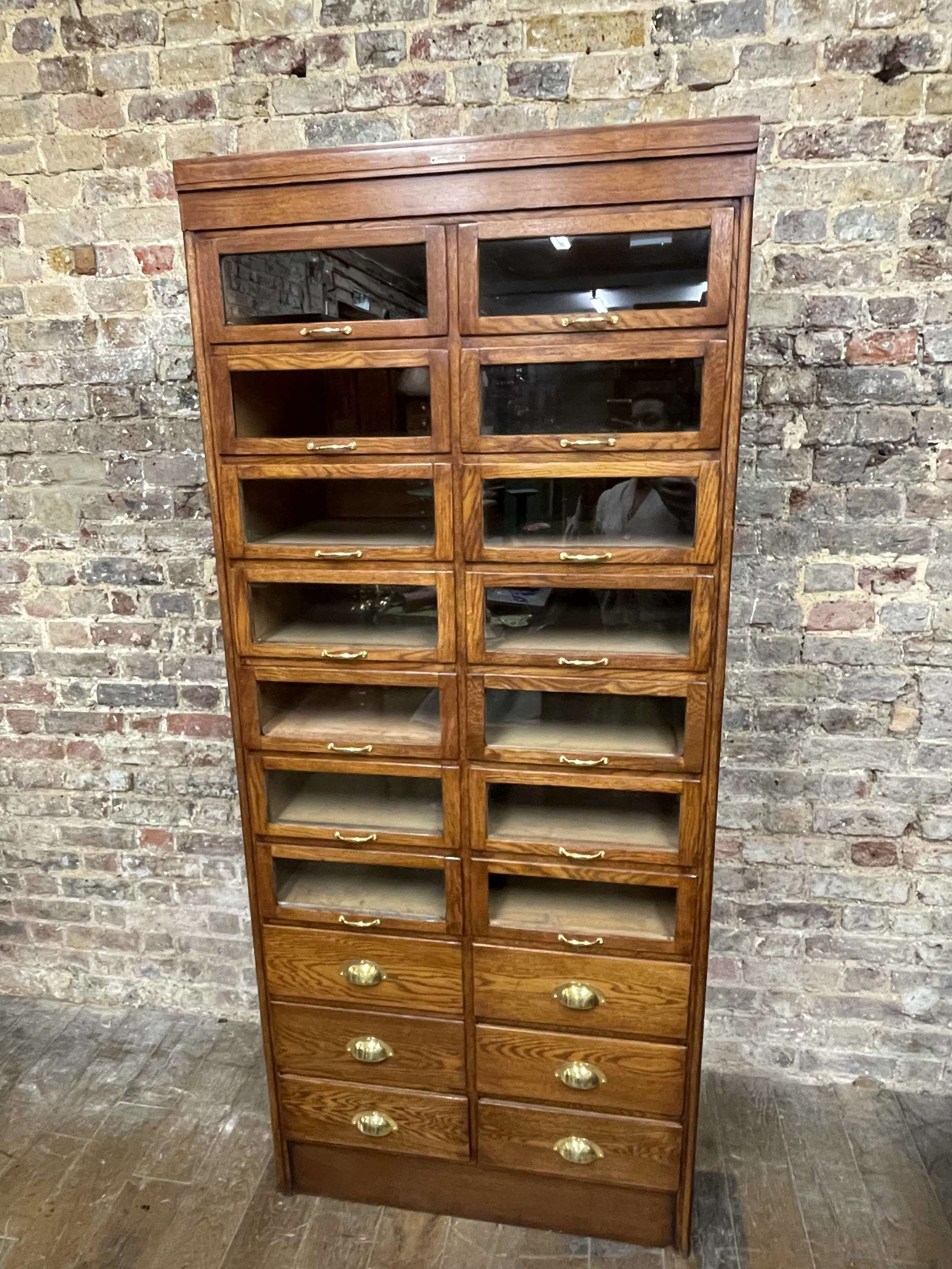 Original Dudley and Co Drapers Cabinet