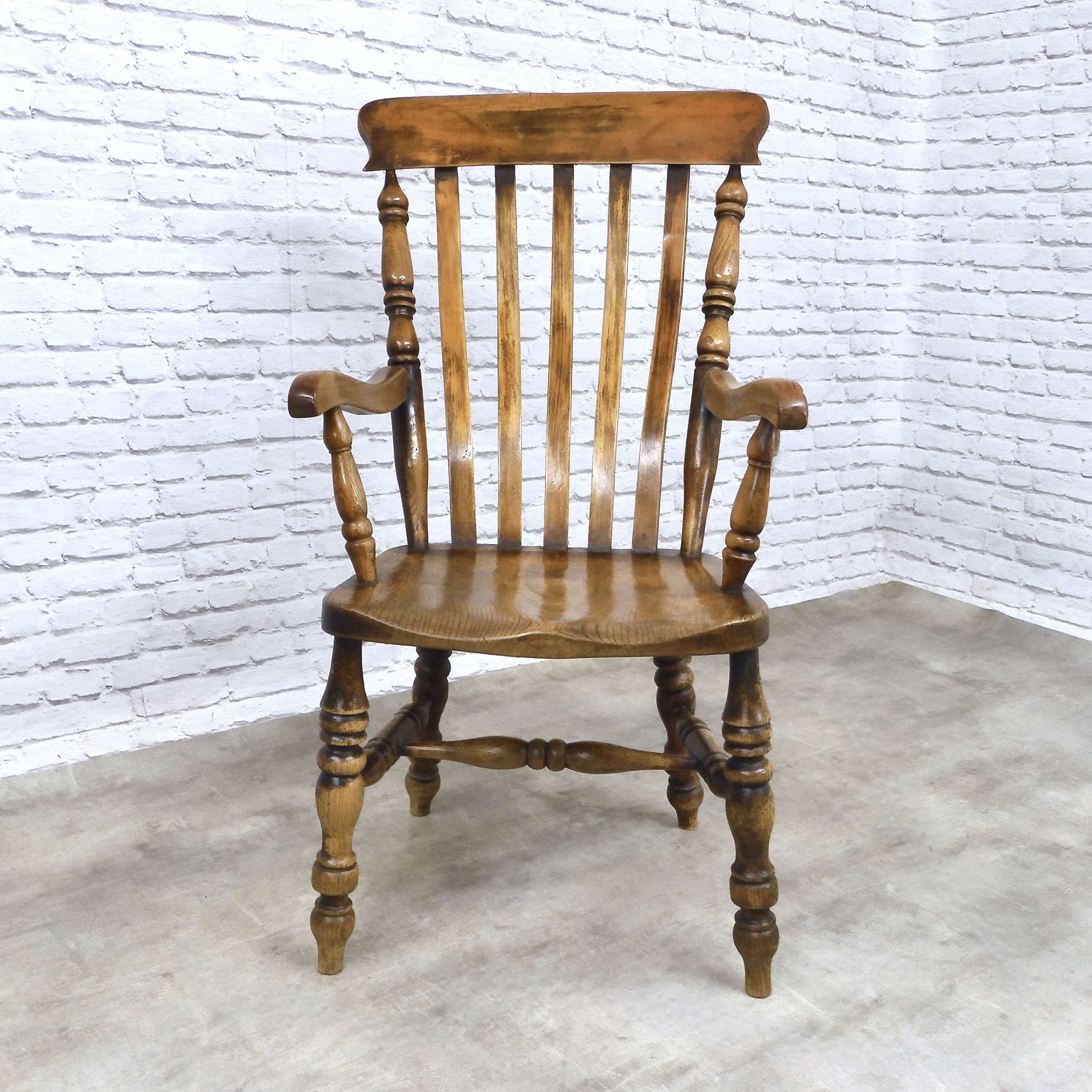 C19th Lincolnshire Windsor Armchair