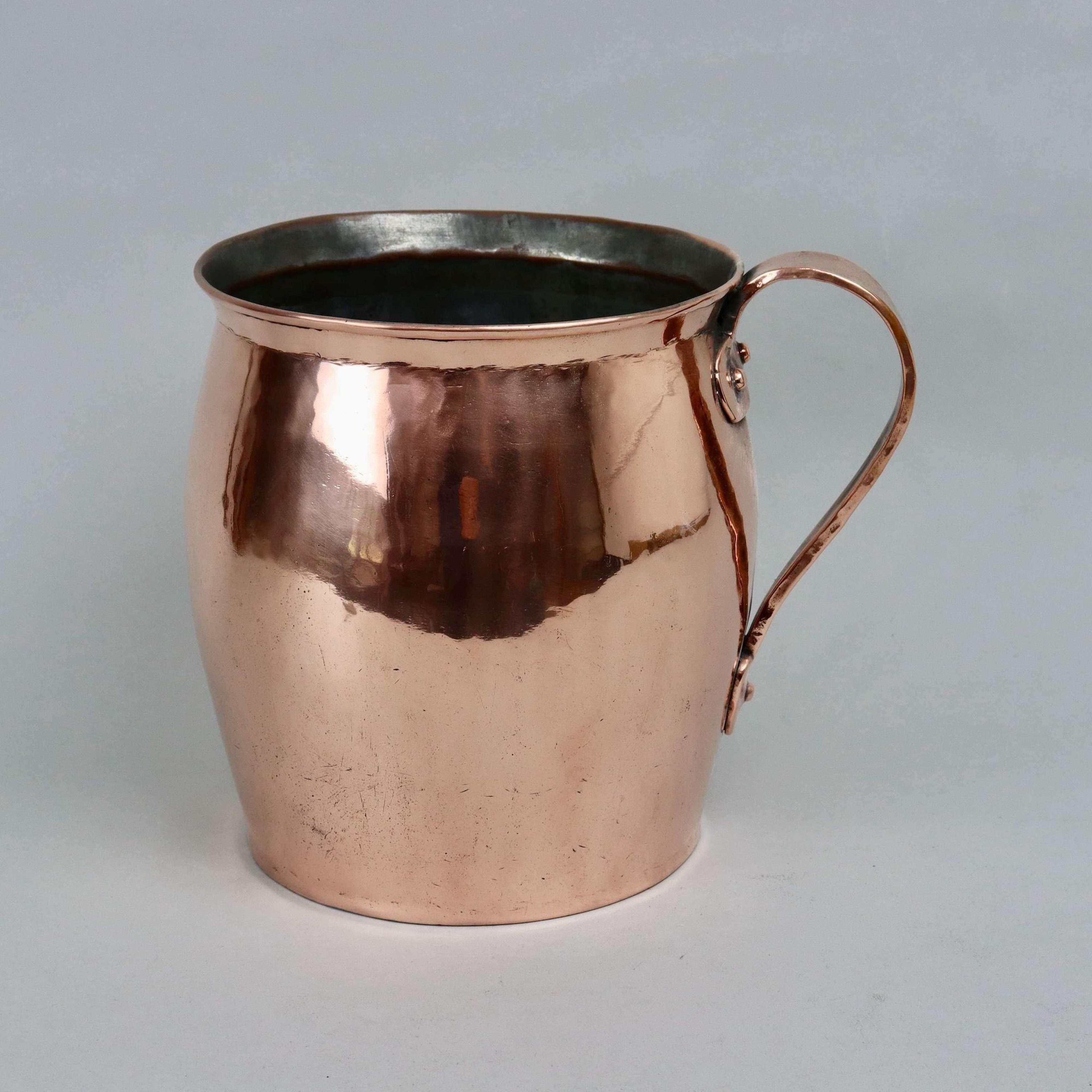 Early 19th century copper pot