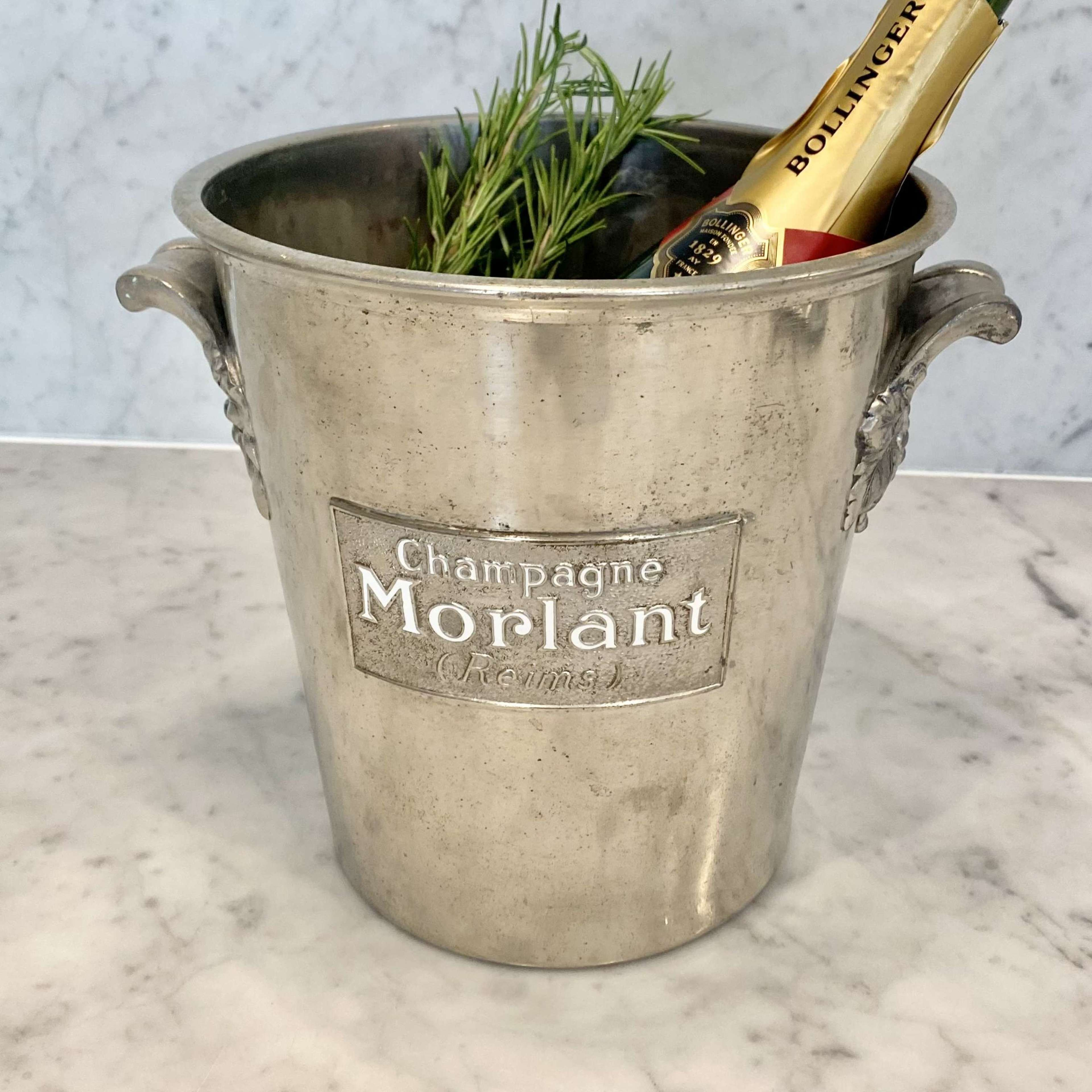 Champagne Morlant champagne wine cooler or ice bucket