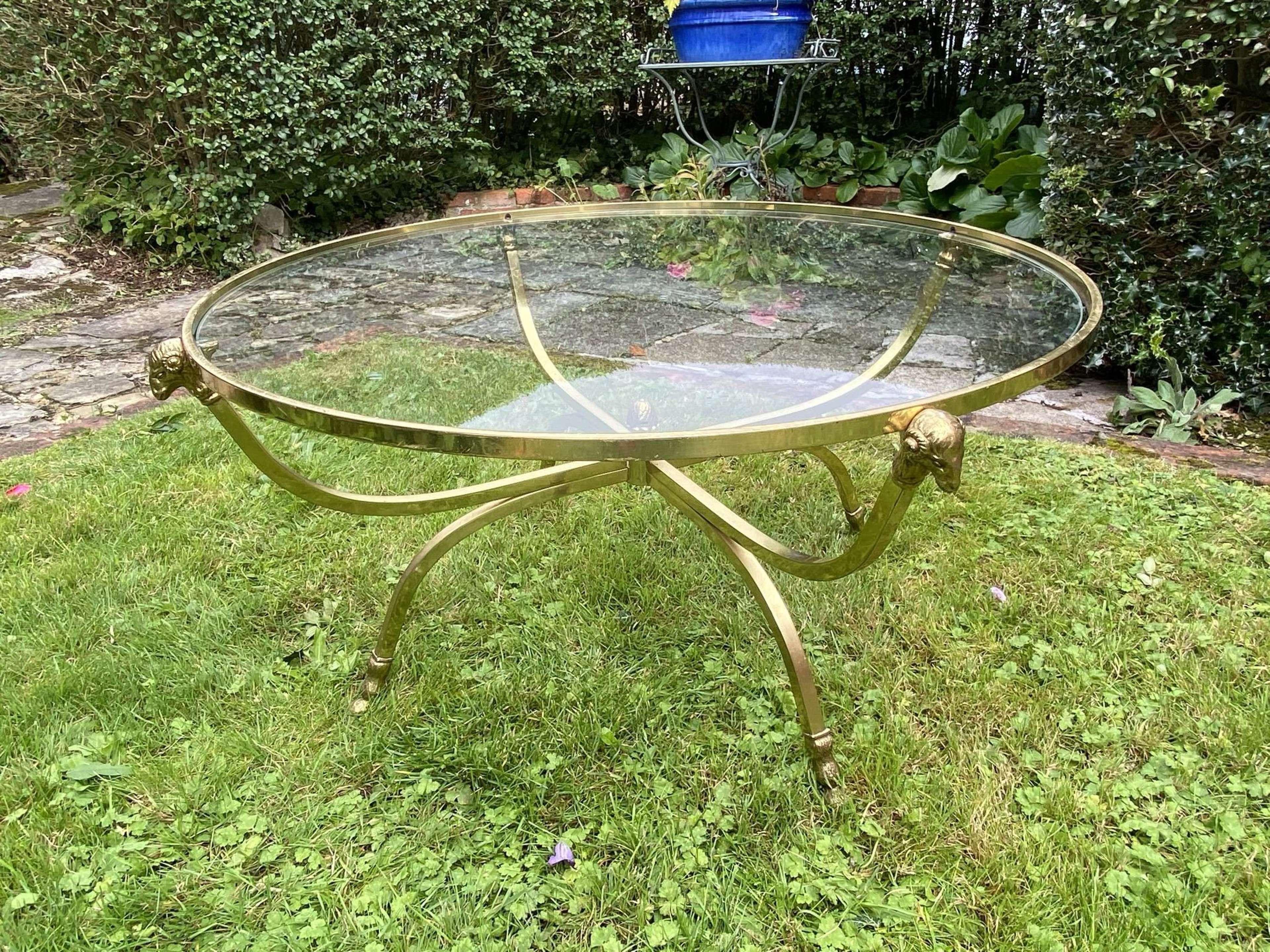 Italian mid century coffee table