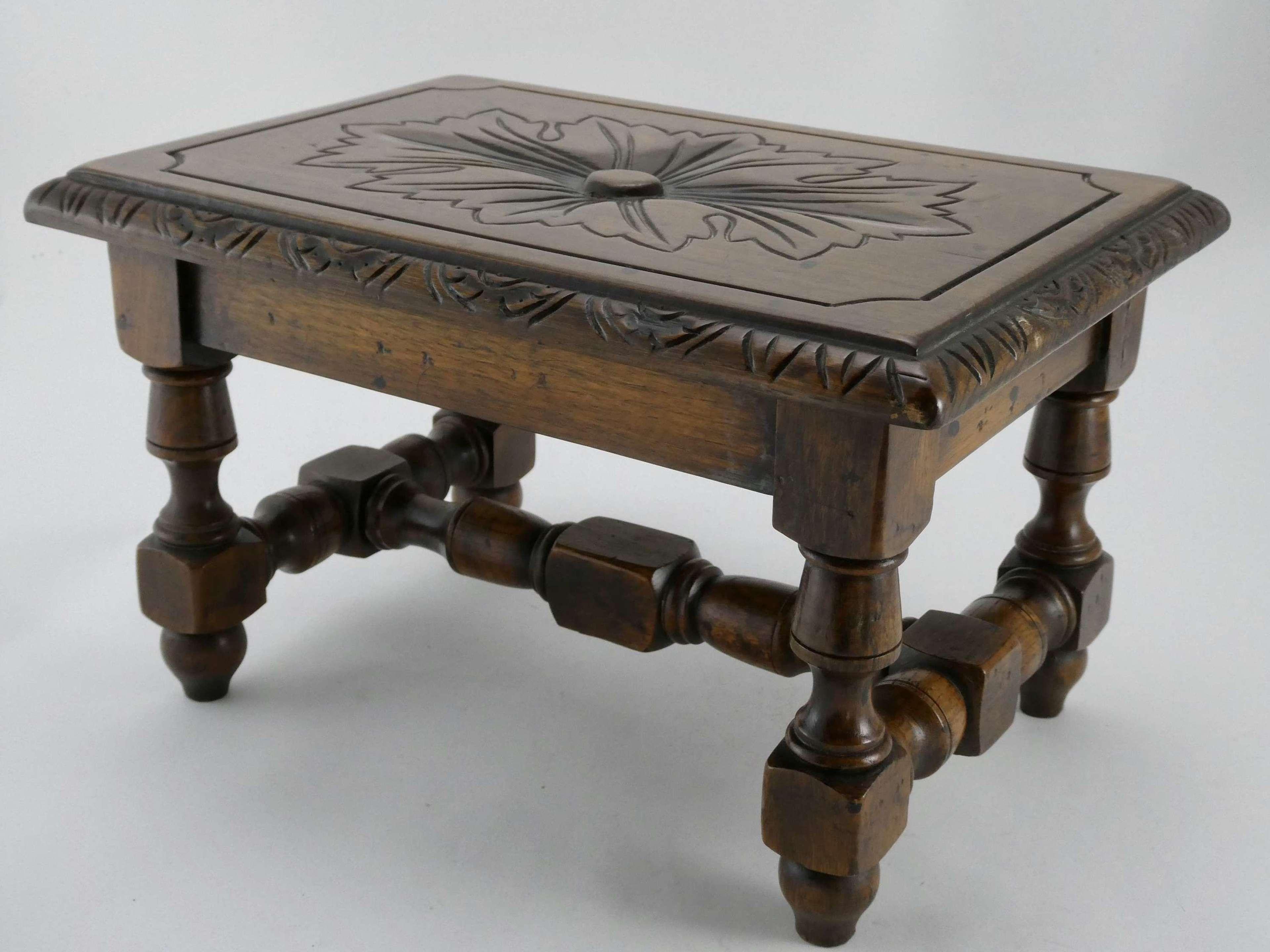 Small 19th Century Oak Stool