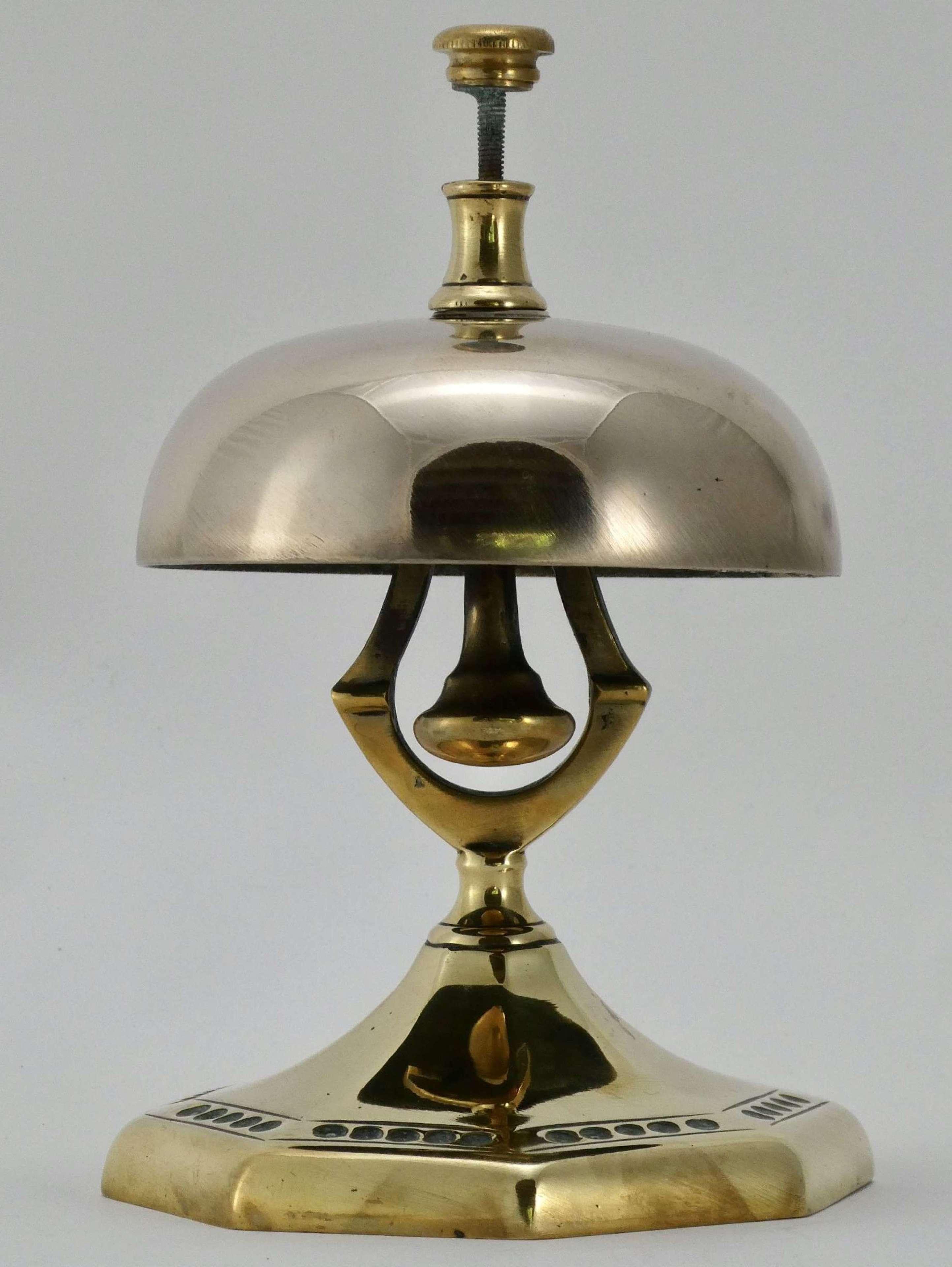 19th Century Brass Counter Bell